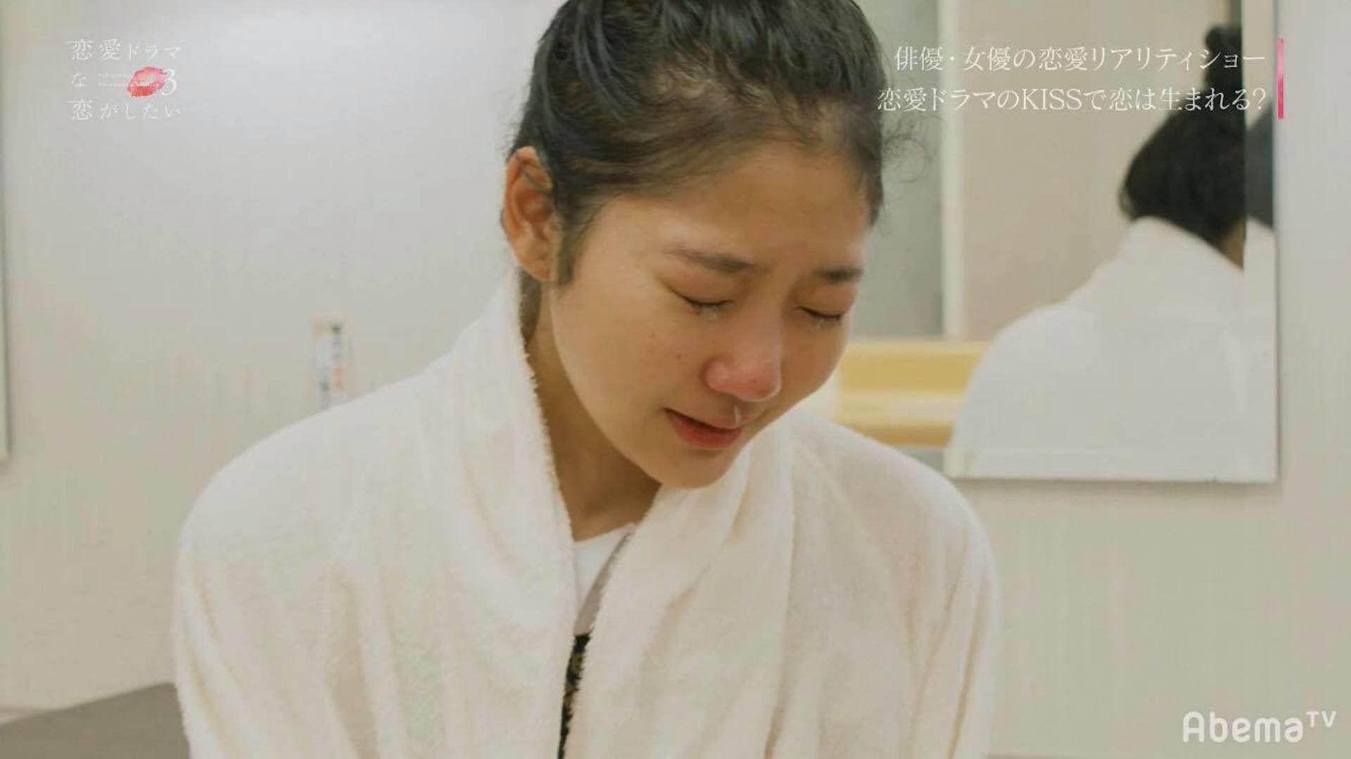 ずぶ濡れキスに渡辺直美が大興奮「このキスが1番良かった。過去1!」|AbemaTV『恋愛ドラマな恋がしたい3』配信中 video190708abematv-renai3_8-1920x1079