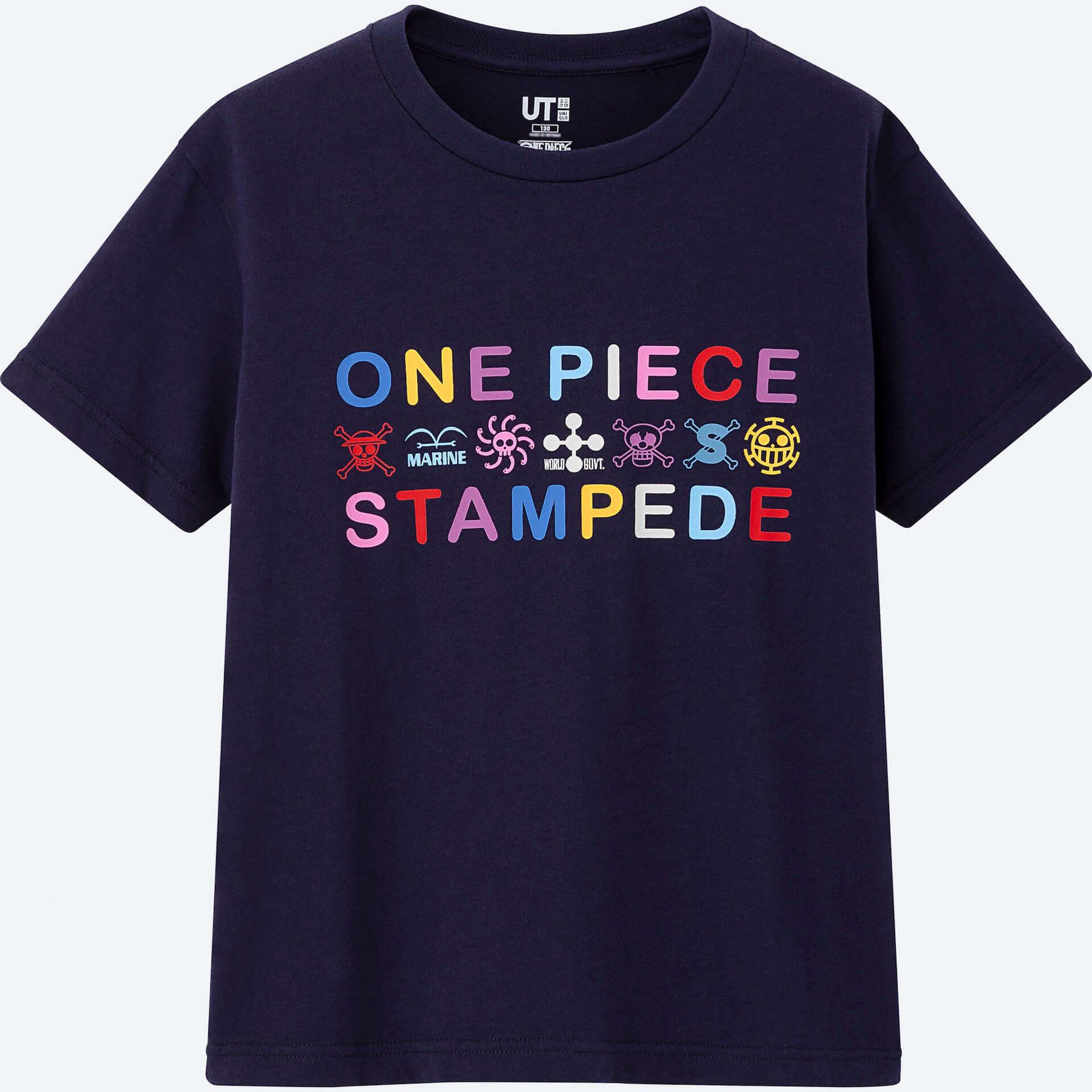 ユニクロとONE PIECEの第2弾コラボが実現!UTに『ONE PIECE STAMPEDE』シリーズが登場 life190711_onepiece_stampede_10-1920x1920