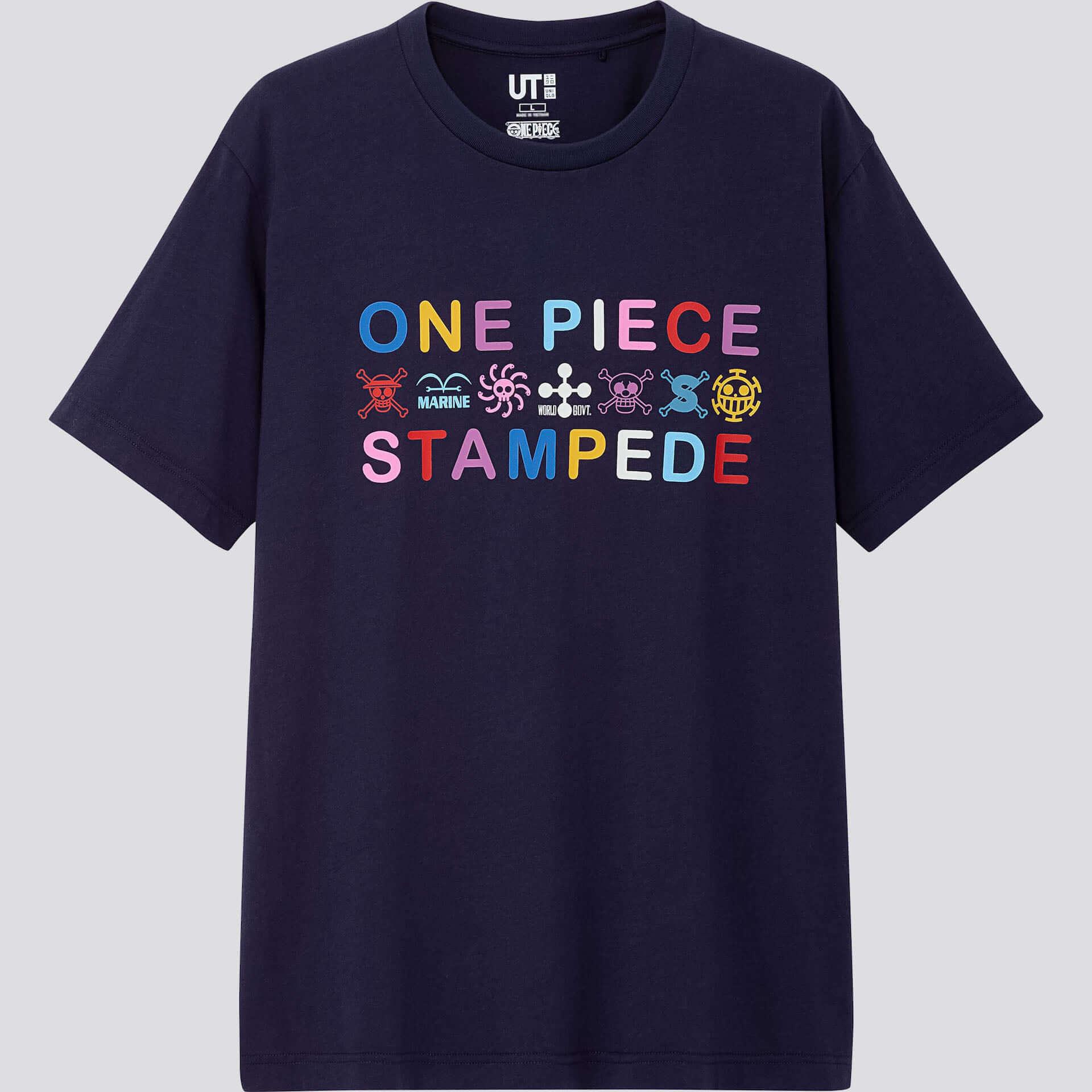 ユニクロとONE PIECEの第2弾コラボが実現!UTに『ONE PIECE STAMPEDE』シリーズが登場 life190711_onepiece_stampede_5-1920x1920