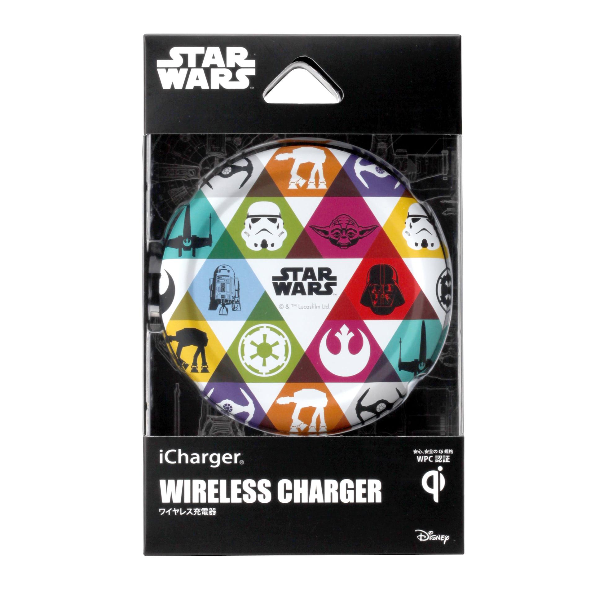 「MARVEL」「STARWARS」仕様のQi認証ワイヤレス充電器が登場|厚さ12mm、置くだけで充電可能 technology190718marvel-qichager_2-1920x1920