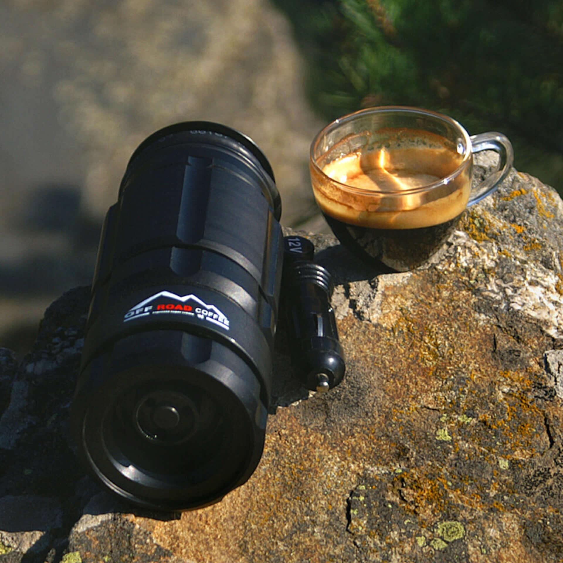 アウトドアでも本格エスプレッソを楽しめる|携帯型エスプレッソメーカー「OFFROAD COFFEE」が登場 technology190718offroadcoffee_3-1920x1920