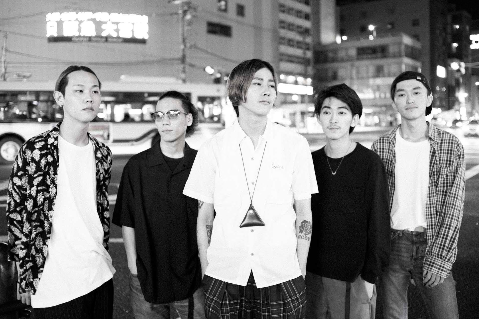 "the McFaddin — 夜の京都で5人に訊く、ファーストアルバム""Rosy"" interview190718-themcfaddin-6"