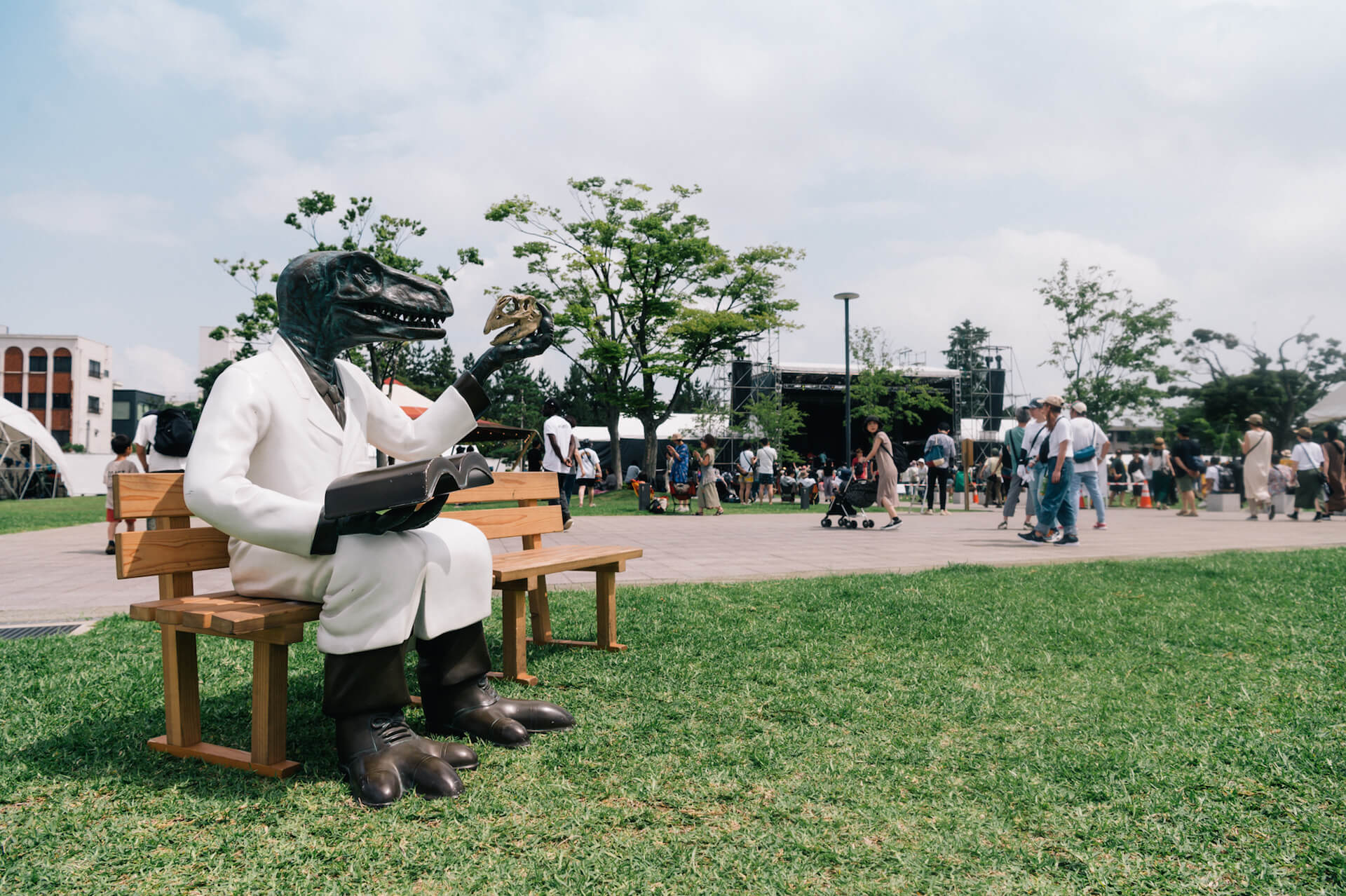 初開催のONE PARK FESTIVALレポート|WONK長塚、Ovall、福井のアーティストhendecagonと水咲加奈の感想は? music190719-oneparkfestival-5