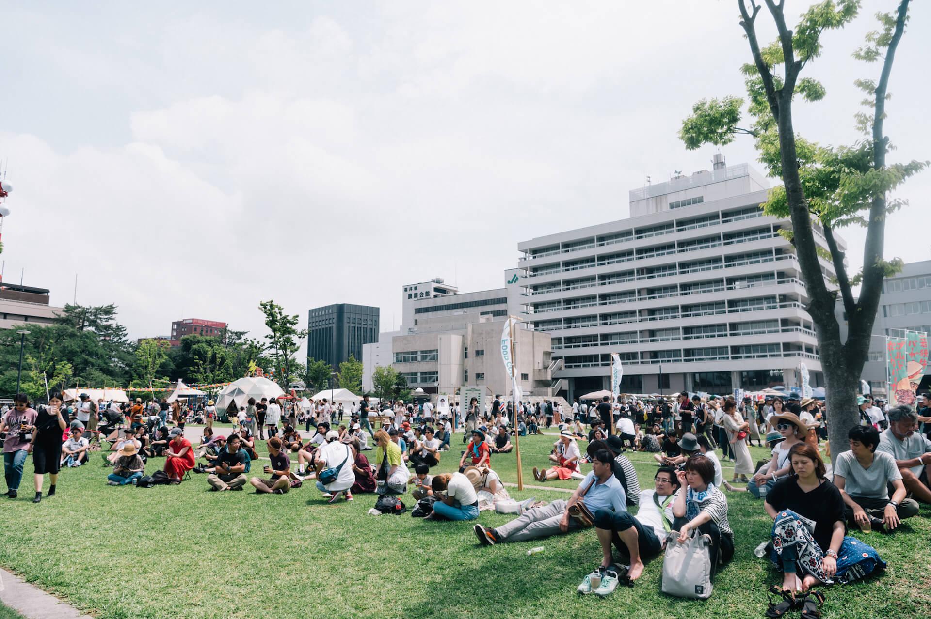 初開催のONE PARK FESTIVALレポート|WONK長塚、Ovall、福井のアーティストhendecagonと水咲加奈の感想は? music190719-oneparkfestival-10