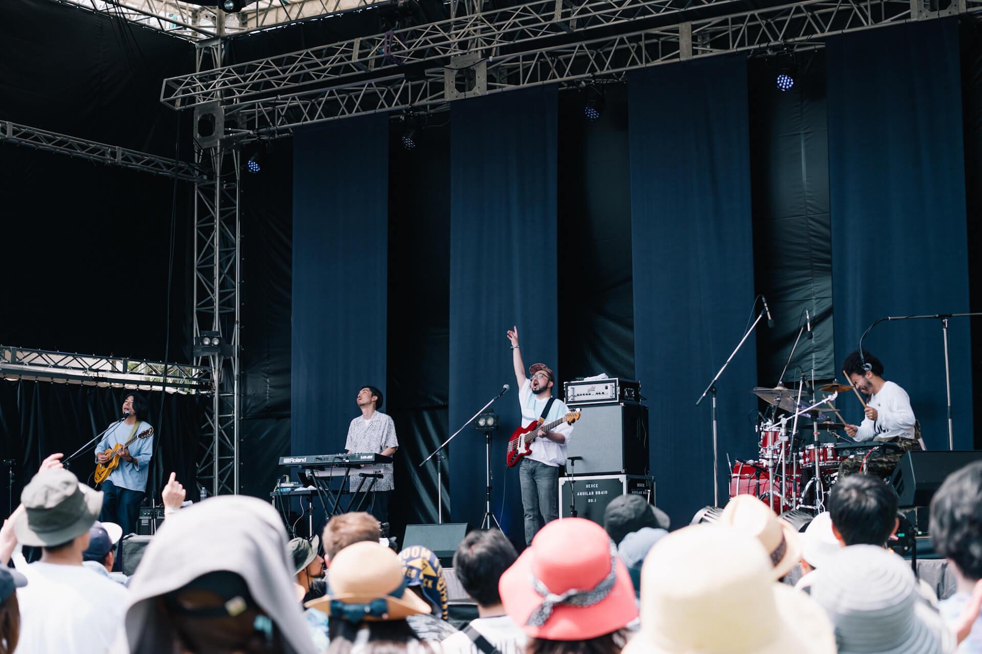 初開催のONE PARK FESTIVALレポート|WONK長塚、Ovall、福井のアーティストhendecagonと水咲加奈の感想は? music190719-oneparkfestival-13