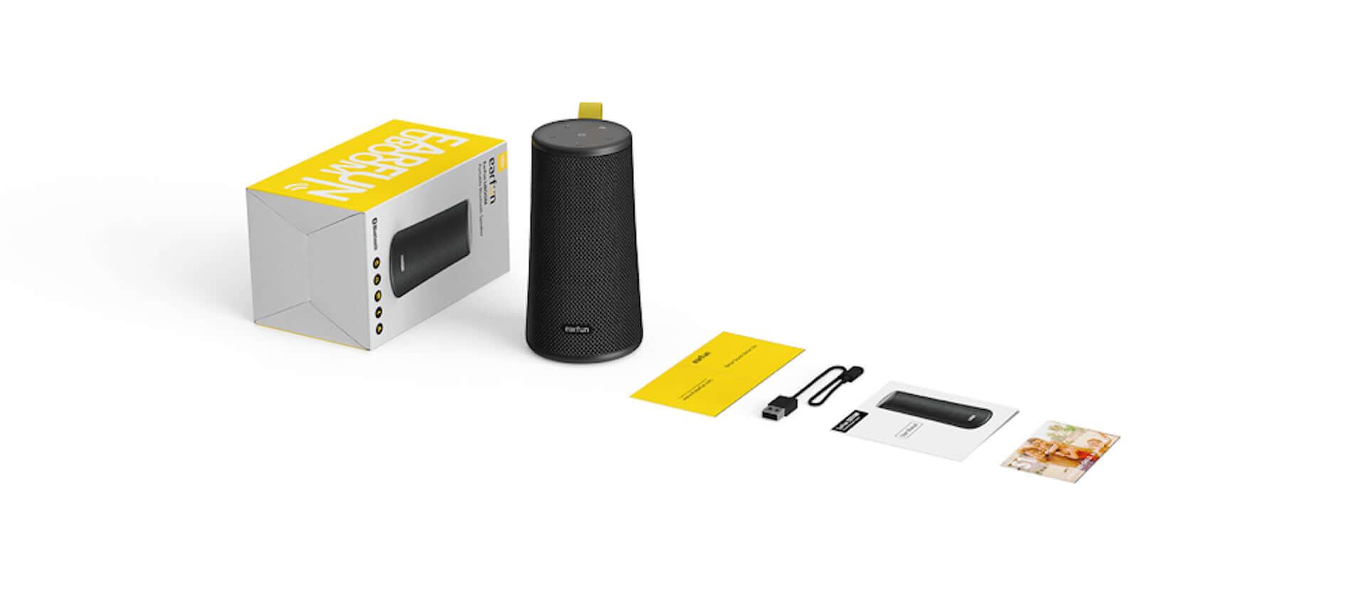 どんな水でも大丈夫、360°方向に迫力ある低音を!Earfun UBOOM Bluetooth5.0 ワイヤレススピーカーが登場 technology190719eaefun-bluetooth_3-1920x866