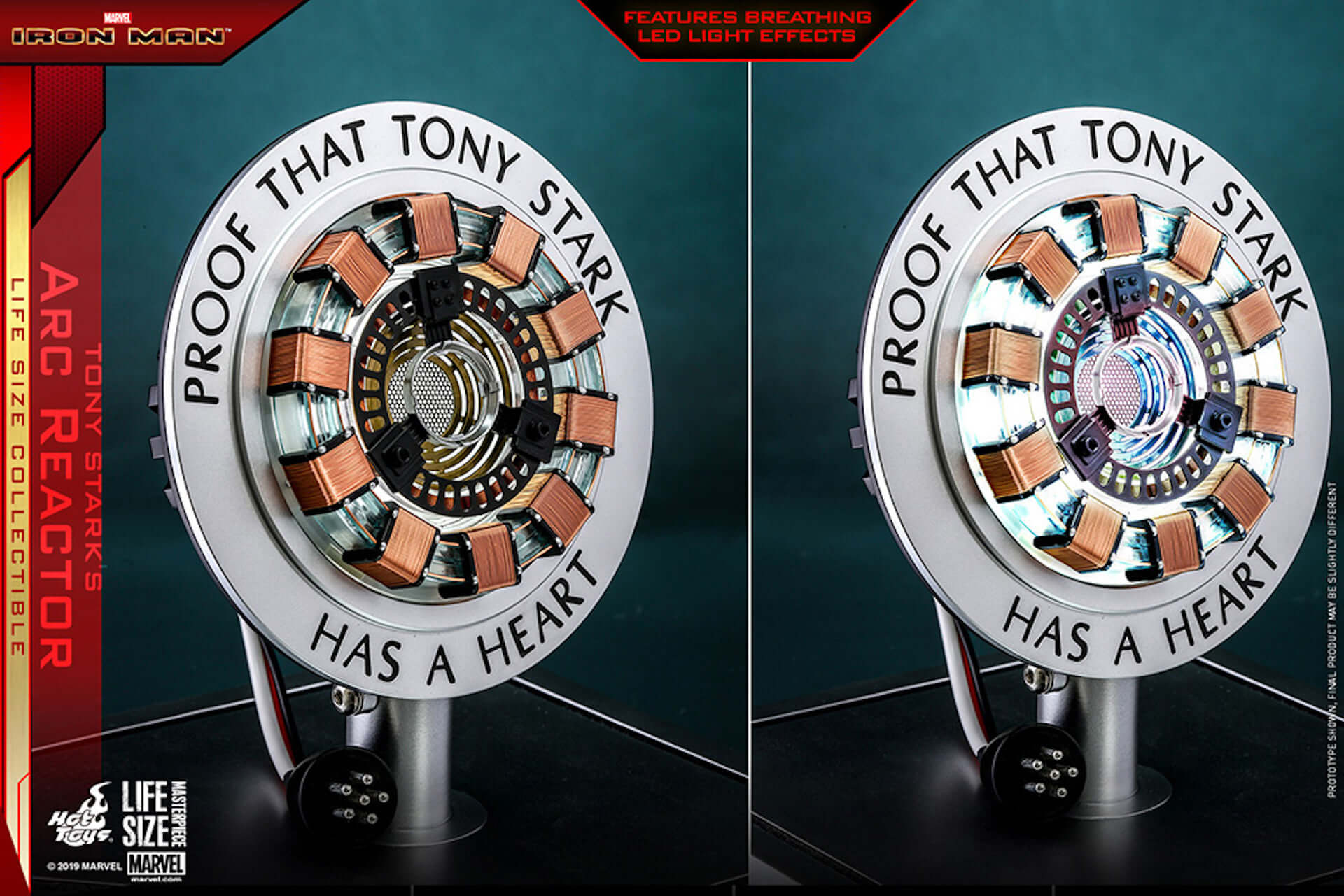 トニー・スタークよ、永遠に|『アベンジャーズ/エンドゲーム』&『アイアンマン』の実物大アーク・リアクターが登場 art190722_avengers_tonystark_1-1920x1281