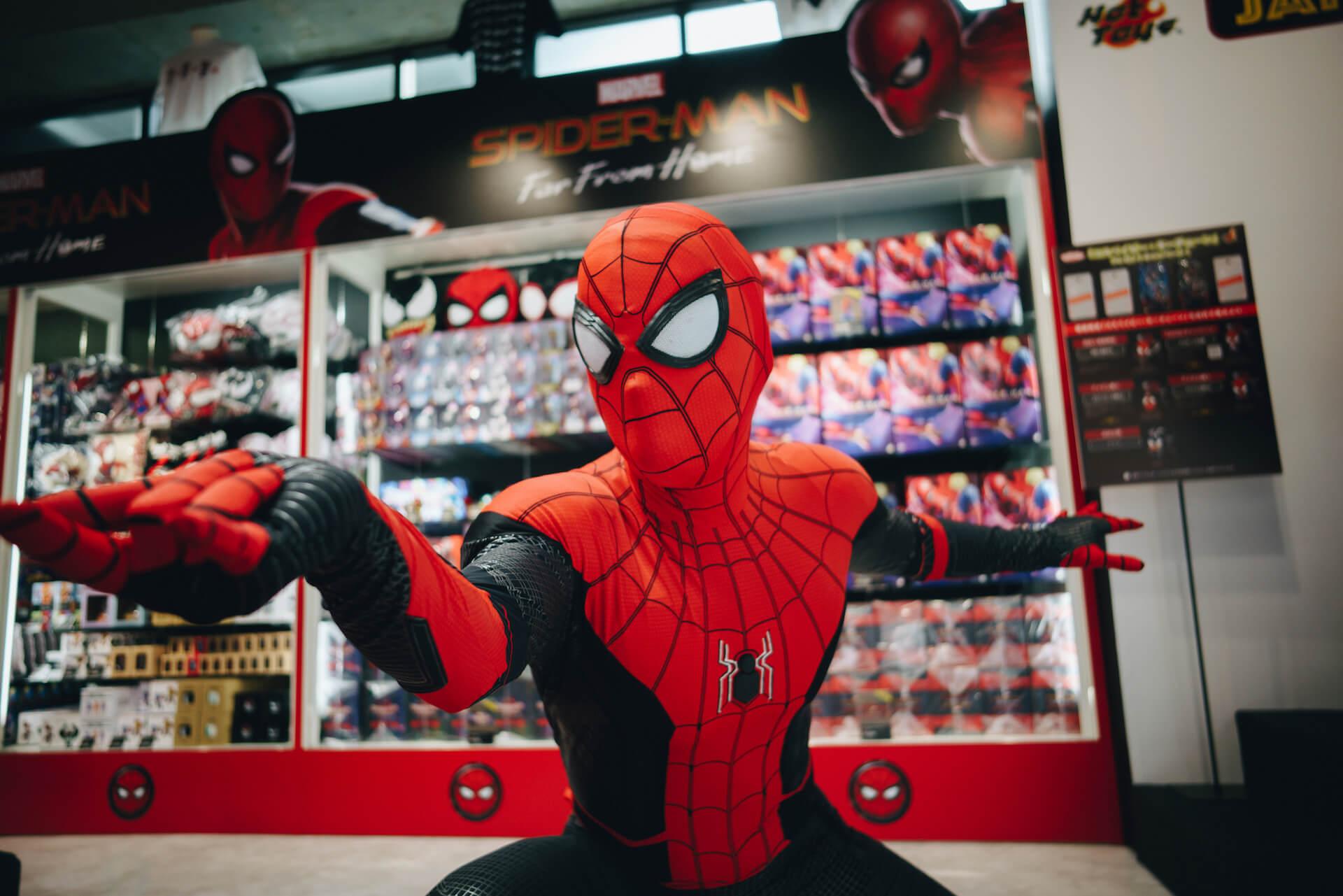 スパイダーマン好きなら目ギラギラ大興奮必至の期間限定ショップ探訪 art-culture-spiderman-store-report-8