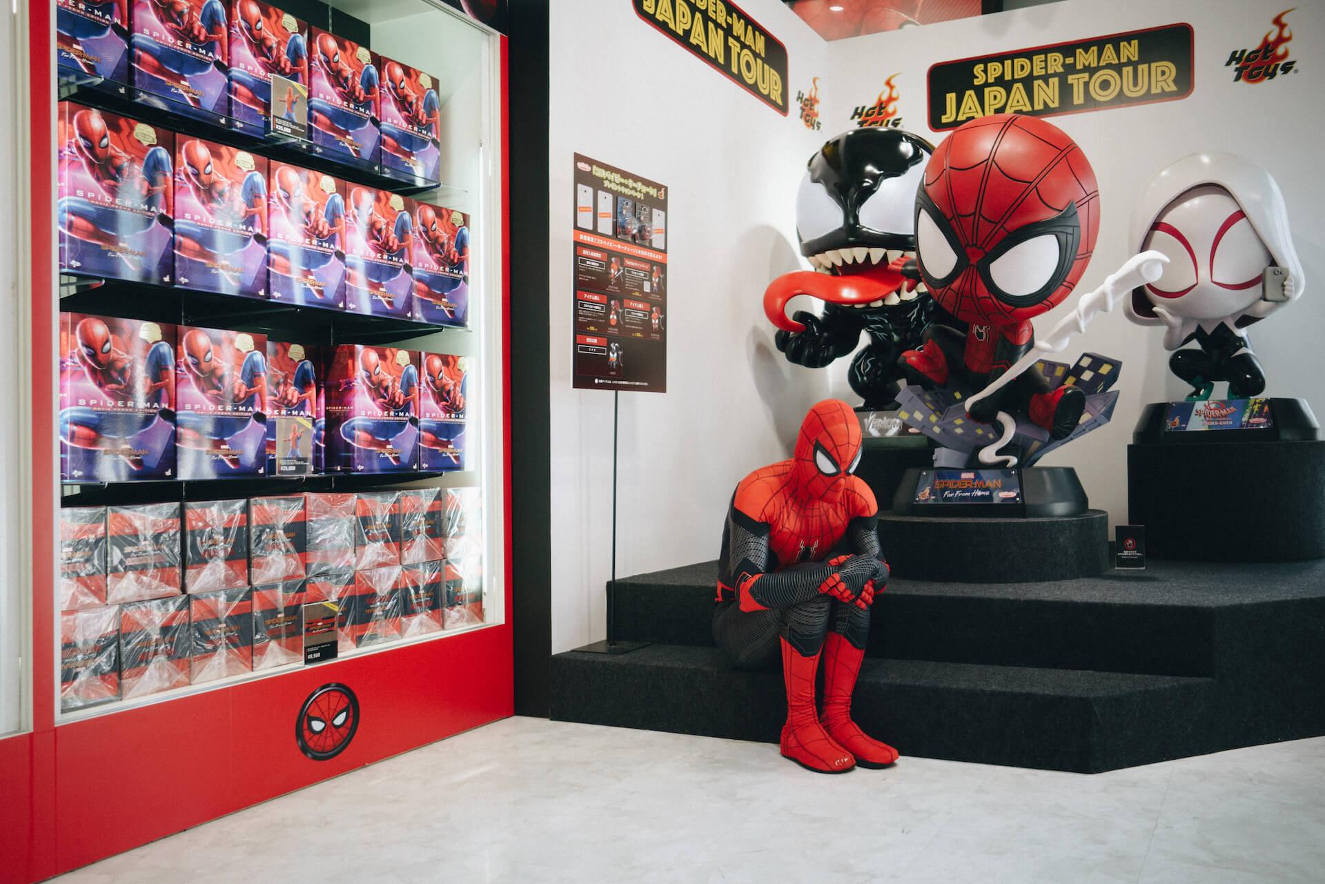 スパイダーマン好きなら目ギラギラ大興奮必至の期間限定ショップ探訪 art-culture-spiderman-store-report-9