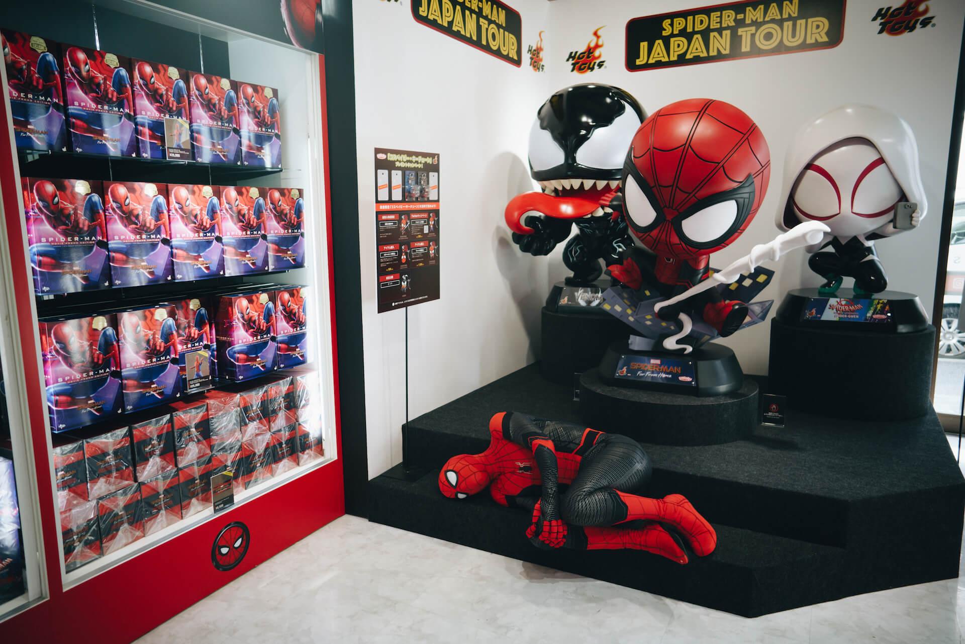 スパイダーマン好きなら目ギラギラ大興奮必至の期間限定ショップ探訪 art-culture-spiderman-store-report-10