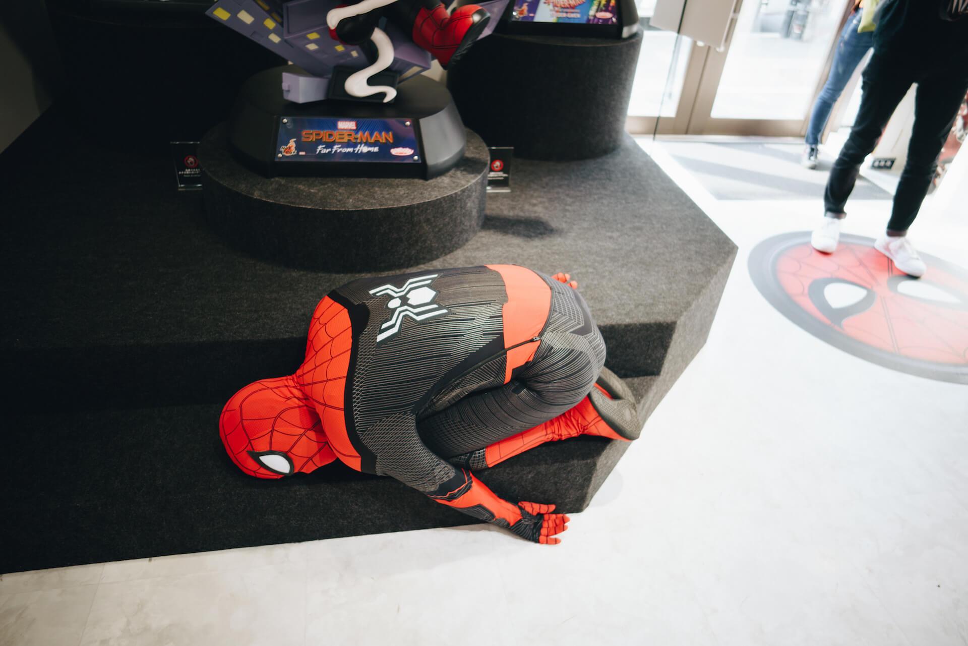 スパイダーマン好きなら目ギラギラ大興奮必至の期間限定ショップ探訪 art-culture-spiderman-store-report-11