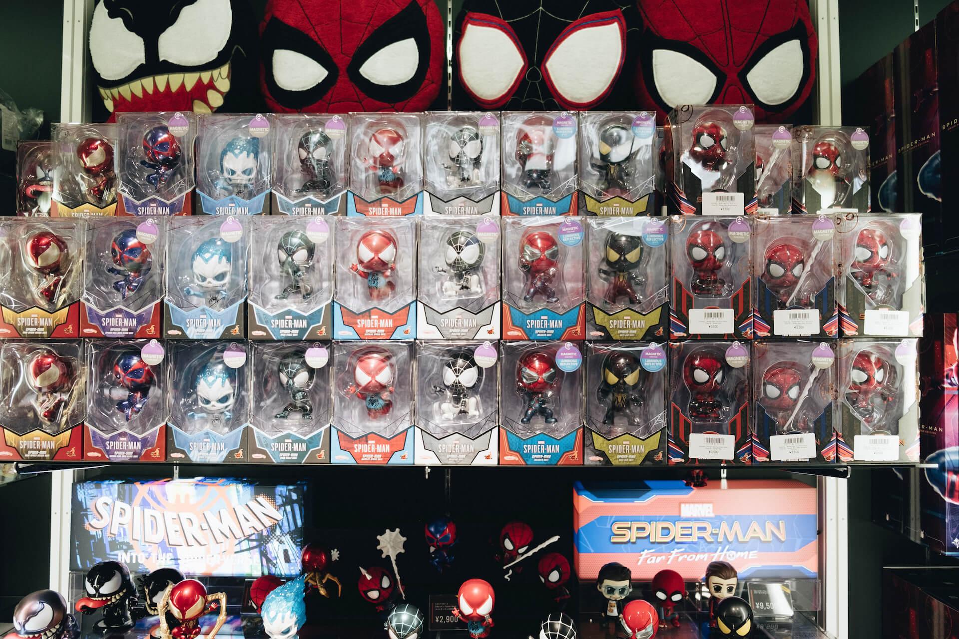 スパイダーマン好きなら目ギラギラ大興奮必至の期間限定ショップ探訪 art-culture-spiderman-store-report-12