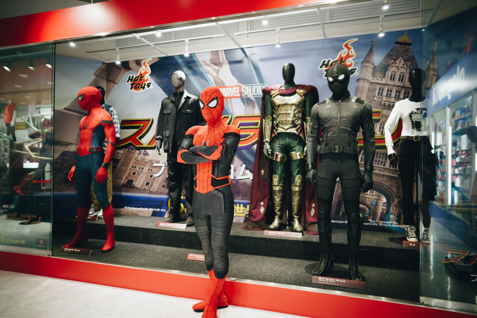 スパイダーマン好きなら目ギラギラ大興奮必至の期間限定ショップ探訪 art-culture-spiderman-store-report-14