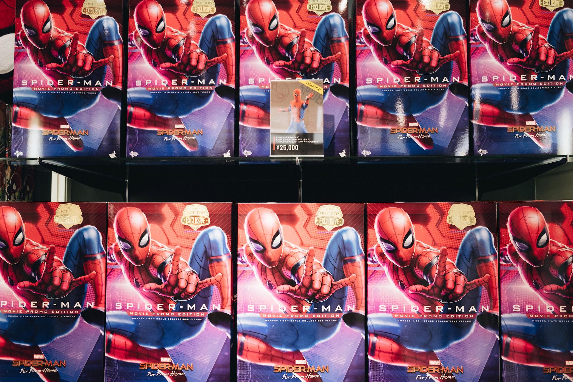 スパイダーマン好きなら目ギラギラ大興奮必至の期間限定ショップ探訪 art-culture-spiderman-store-report-16