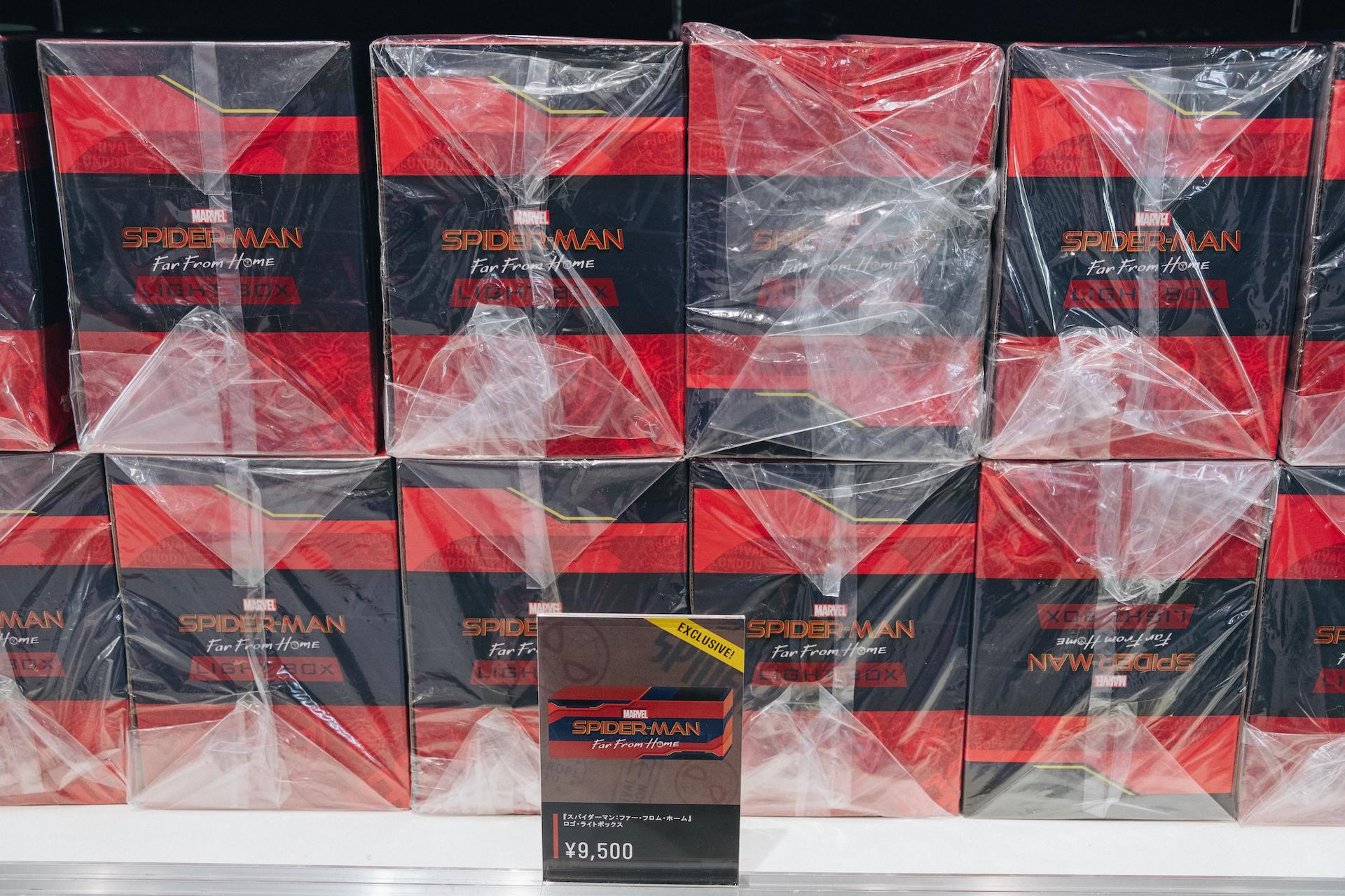 スパイダーマン好きなら目ギラギラ大興奮必至の期間限定ショップ探訪 art-culture-spiderman-store-report-17