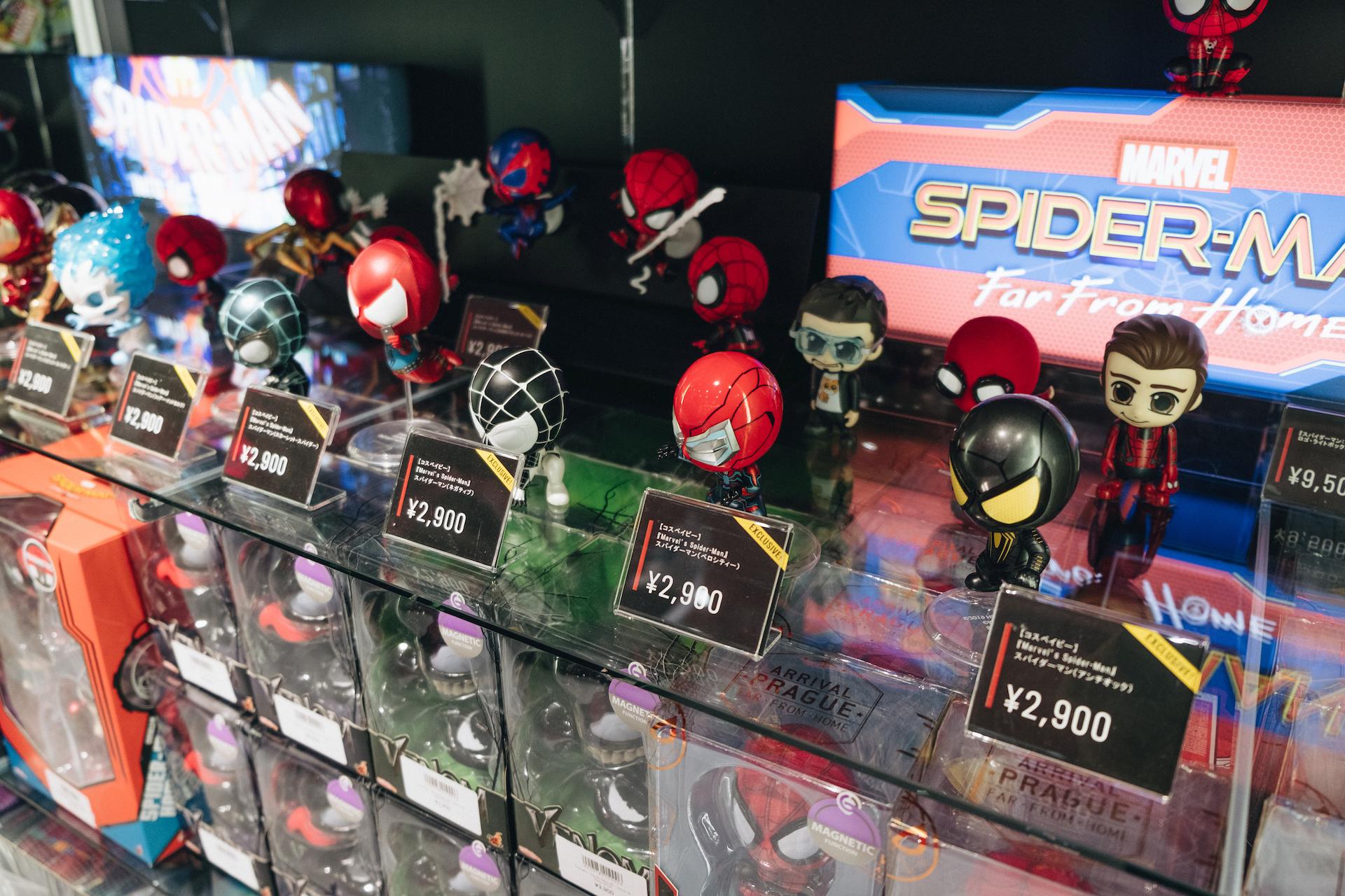 スパイダーマン好きなら目ギラギラ大興奮必至の期間限定ショップ探訪 art-culture-spiderman-store-report-20