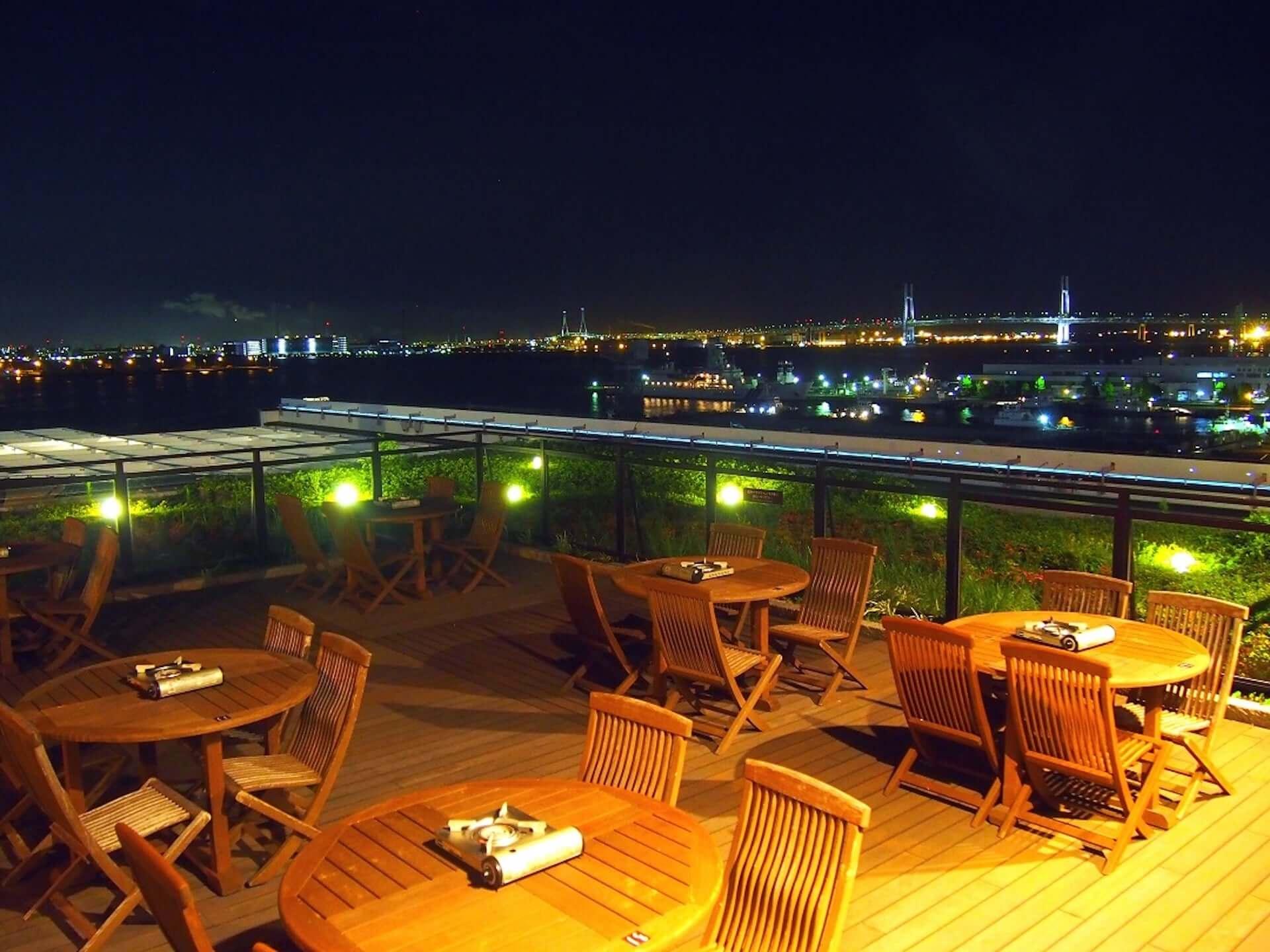 ビアガーデンと温泉を一緒に楽しもう!横浜港を臨むBBQビアガーデンが現在開催中! lifefashion190725beergarden_1-1920x1440