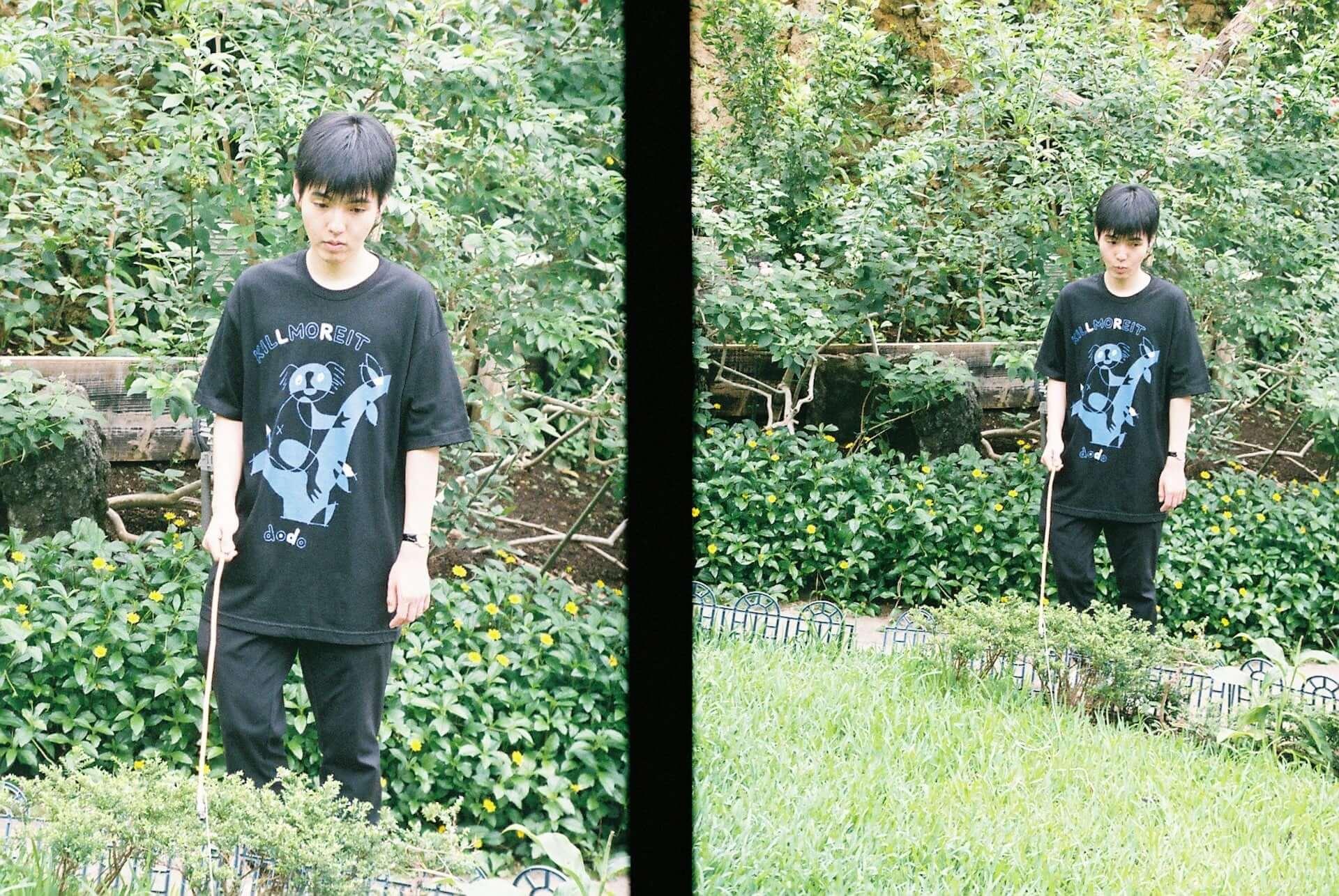 フジロック3日目に出演|新鋭ラッパー・dodo x Ryu OkuboによるコラボTシャツが本日から予約開始 lifefashion190726dodo_12-1920x1286