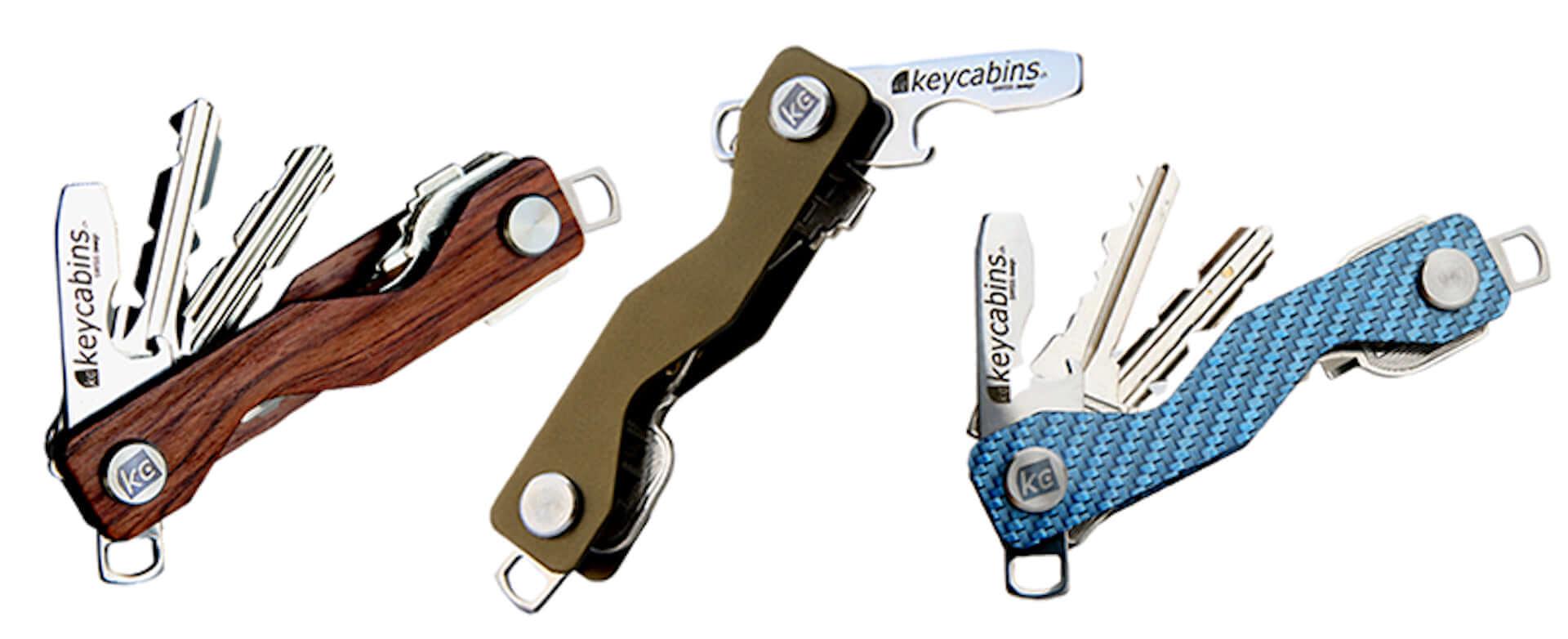 スマートに鍵をスタッキングできる「keychains」が本日よりクラウドファンディングで先行予約開始! life190726_keycabins_8-1920x782