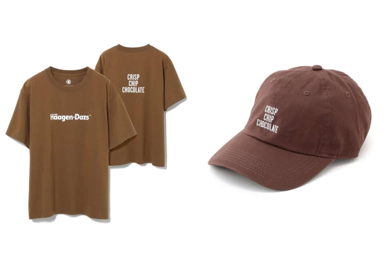 ハーゲンダッツがアダムエロペと異色のコラボ!別注Tシャツ、キャップが発売 brown-1440x960