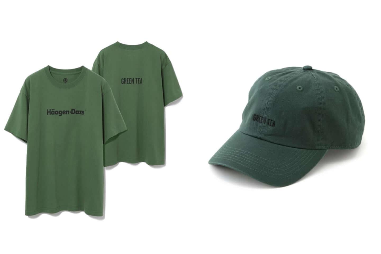 ハーゲンダッツがアダムエロペと異色のコラボ!別注Tシャツ、キャップが発売 green-1440x960
