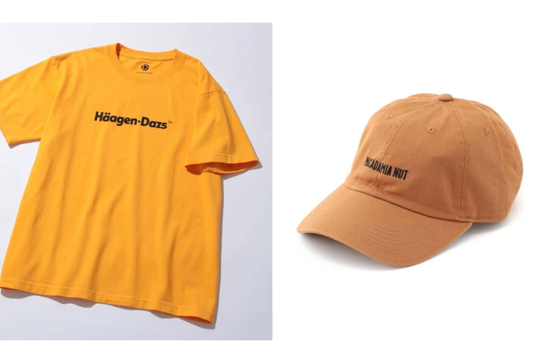 ハーゲンダッツがアダムエロペと異色のコラボ!別注Tシャツ、キャップが発売 yellow-1440x960