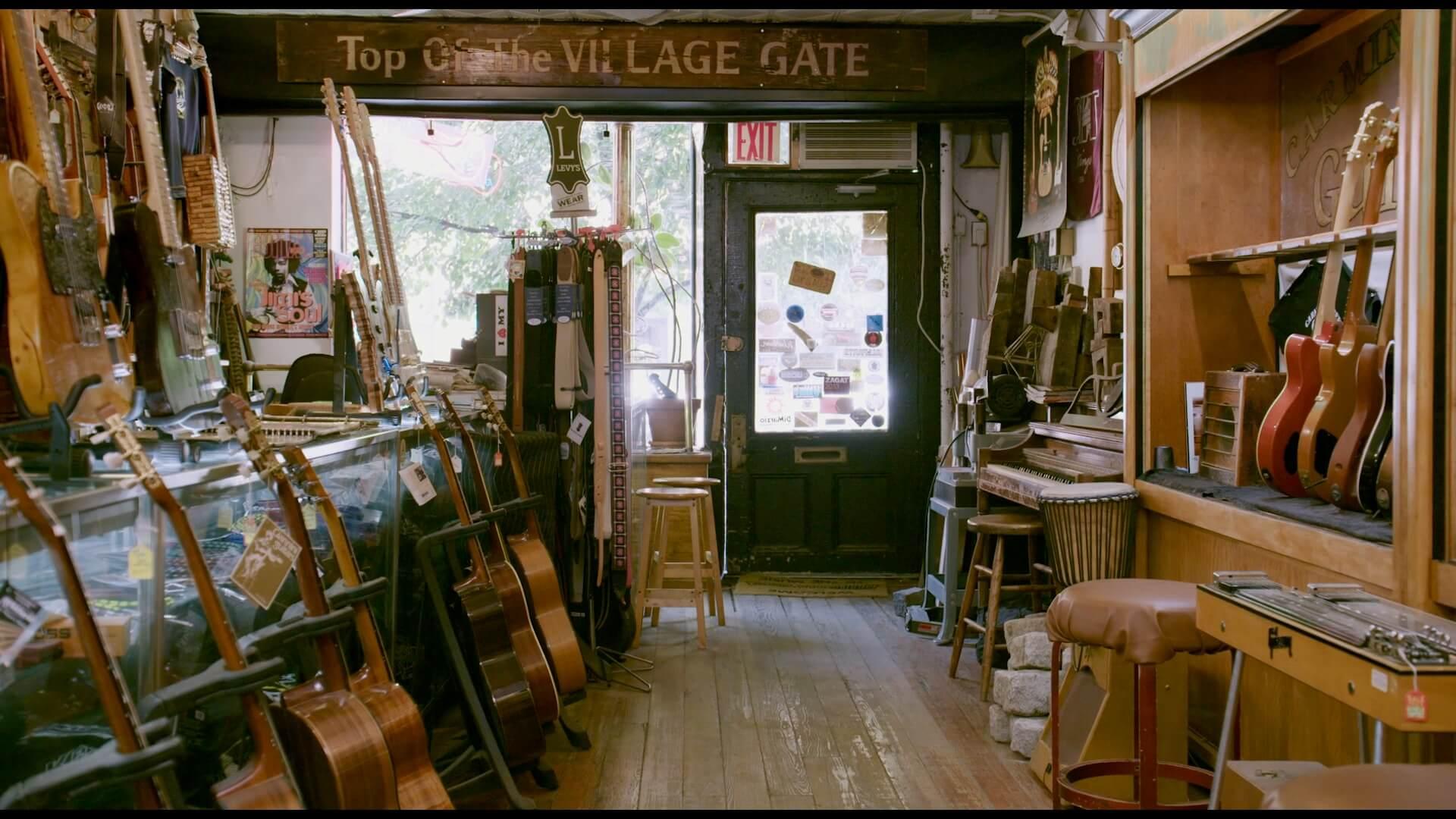 NYにあるギターショップのドキュメンタリー映画『カーマイン・ストリート・ギター』が本日より上映|山内総一郎、尾崎世界観、ハマ・オカモトらがコメントを寄せる fiml190810-carminestreertguitars-5