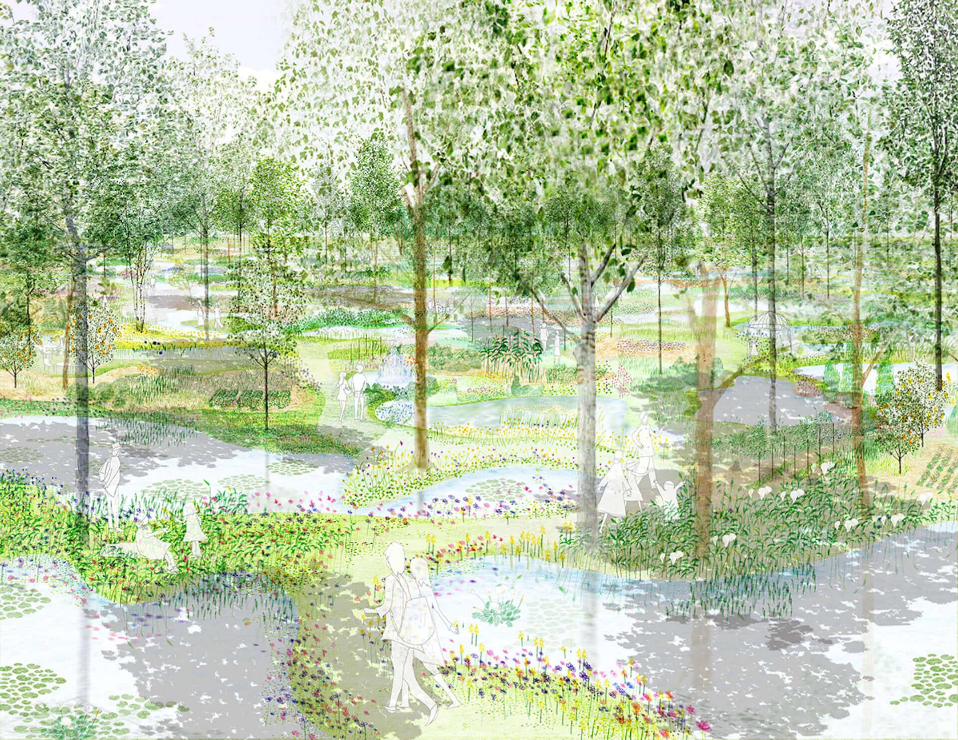 クールジャパンアワード2019受賞!世界が注目する建築家・石上純也水が手がける『水庭』の全貌 7-1920x1482