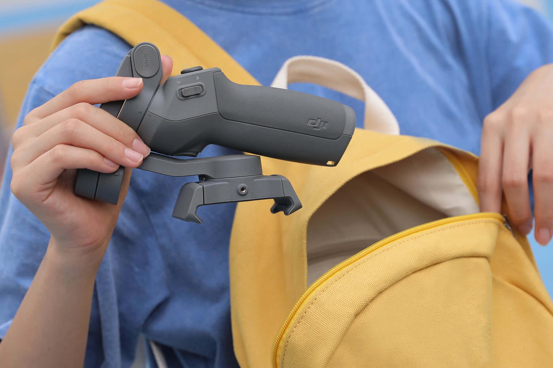 プロ並みの映像が撮れるかも!?DJI「Osmo Mobile 3」が登場|多機能な折りたたみ式スマホ用スタビライザー technology190814osmomobile_5.jpg-1920x1280