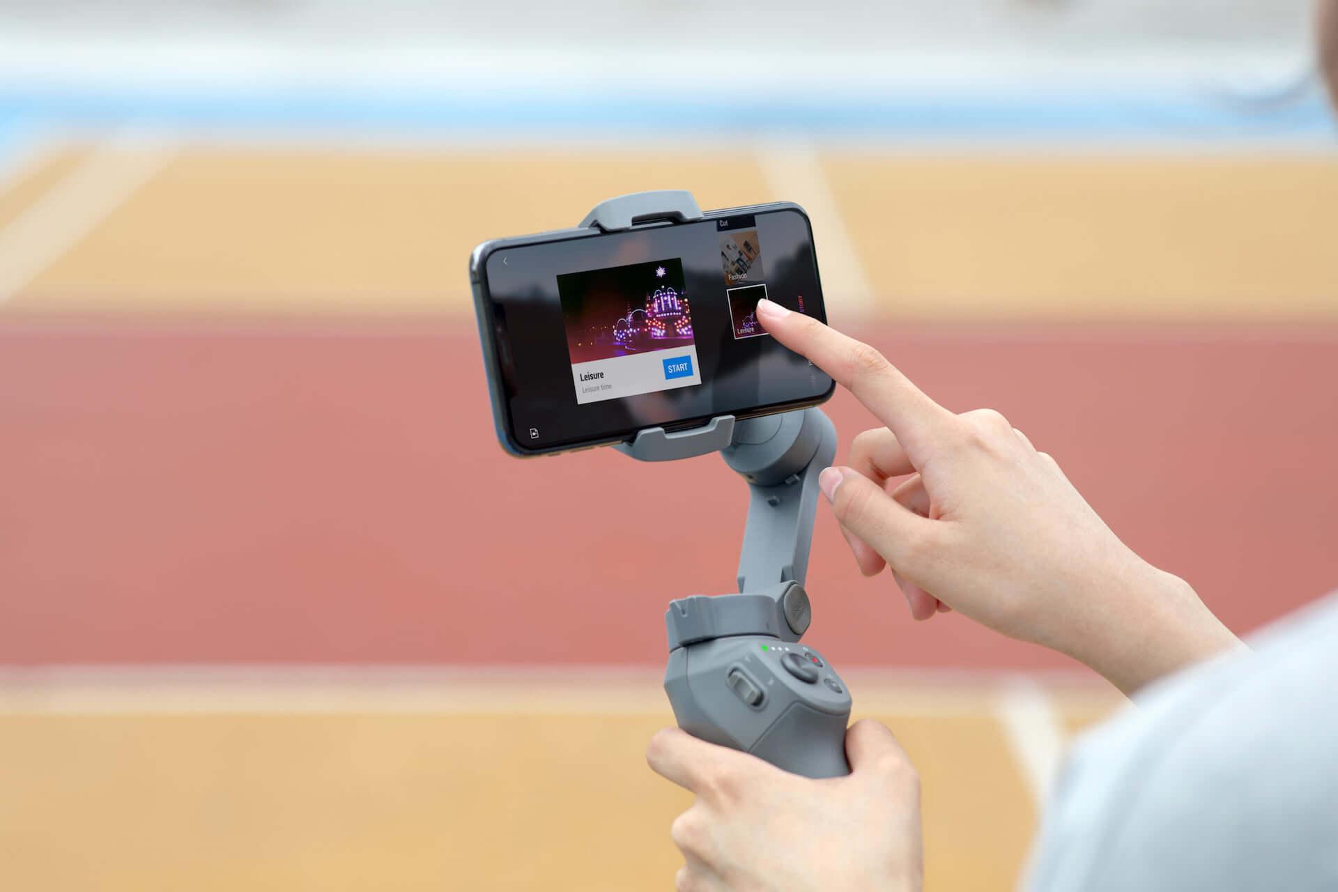 プロ並みの映像が撮れるかも!?DJI「Osmo Mobile 3」が登場|多機能な折りたたみ式スマホ用スタビライザー technology190814osmomobile_6-1920x1280