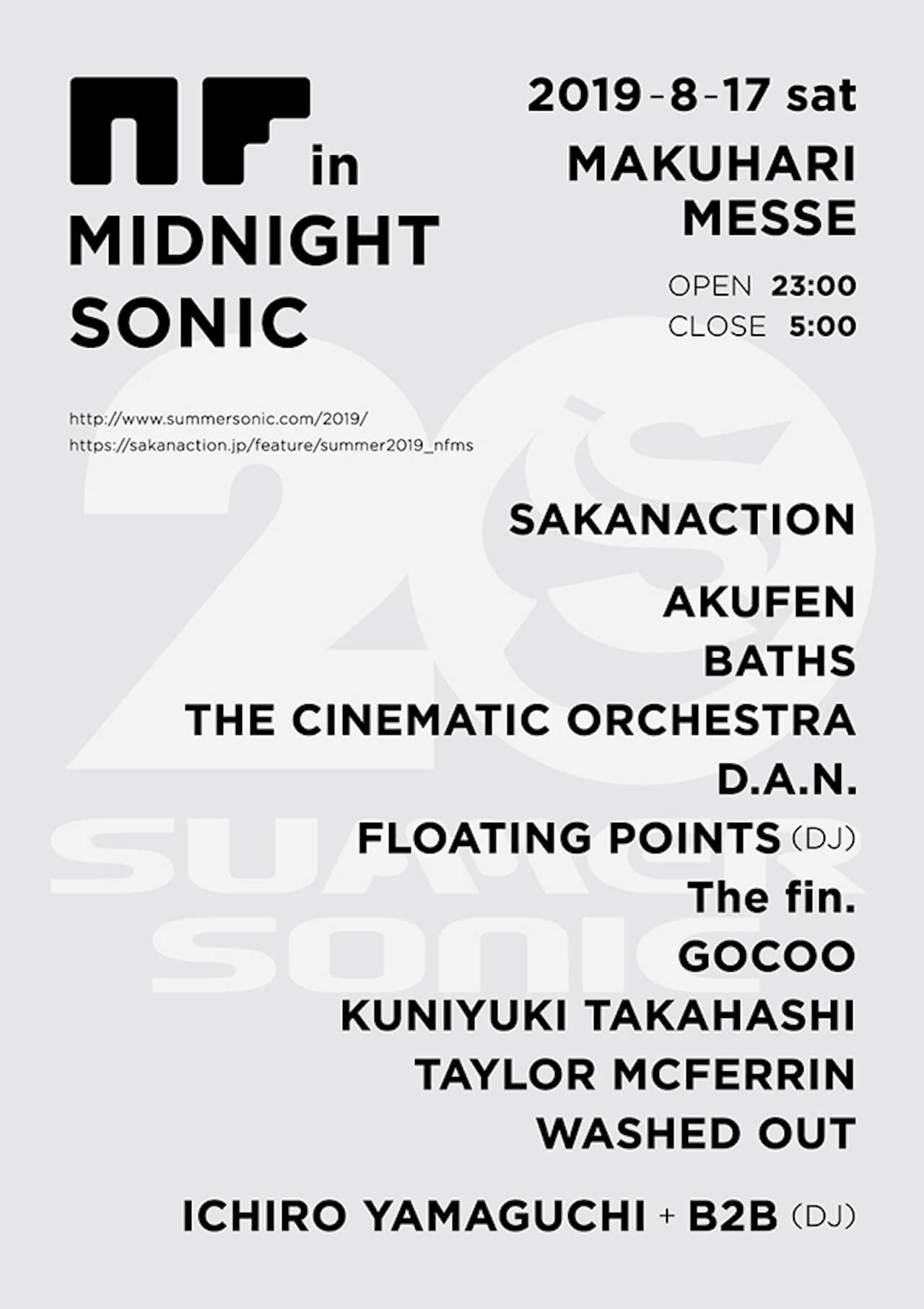 「NF in MIDNIGHT SONIC」に出演|Floating Points、Sónar 2019にて披露したDJ音源がBBCで公開中 music190814-floating-points-2