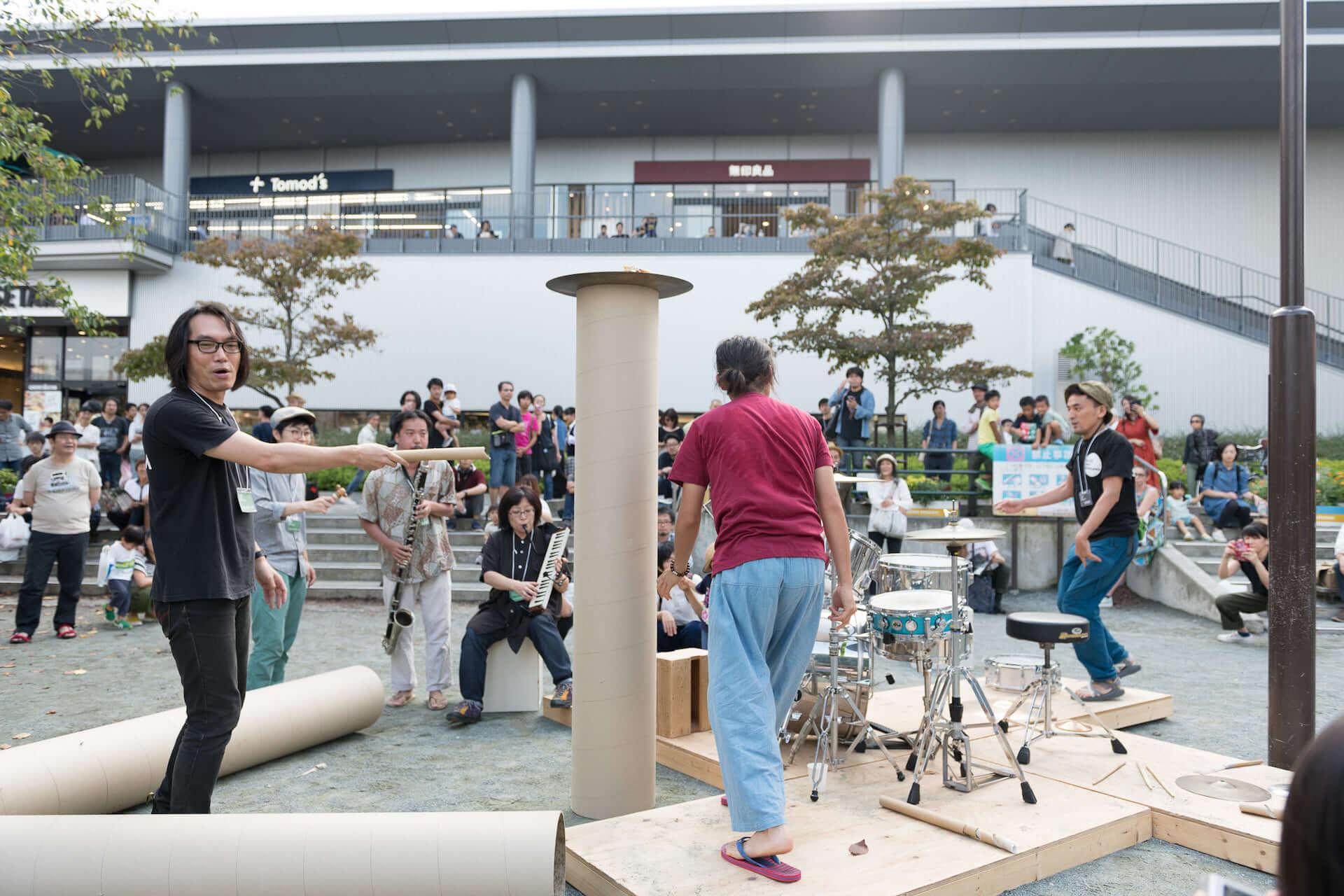 巻上公一らが出演する、即興音楽とアートのフェスティバル<JAZZ ART せんがわ 2019>開催決定!クラウドファンディング実施中 music190814jazzart_8-1920x1280