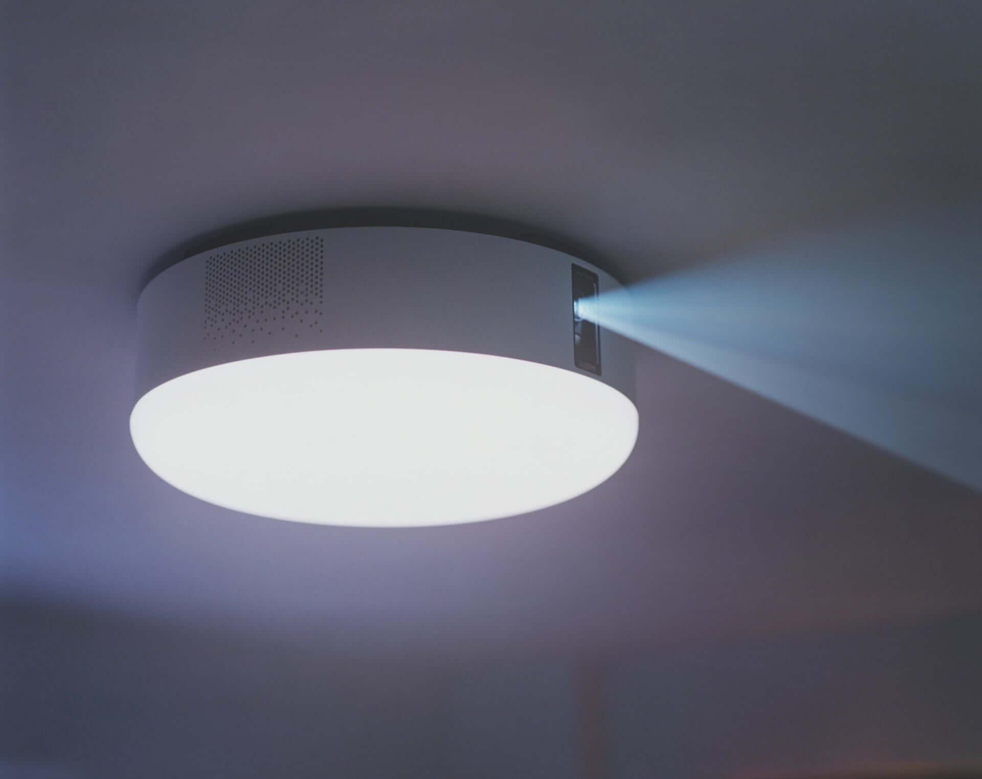 寝室で手軽にホームシアターを!世界初プロジェクター付きシーリングライト、動画配信サービス「U-NEXT」が追加 technology190816popin-aladdin_2-1920x1523