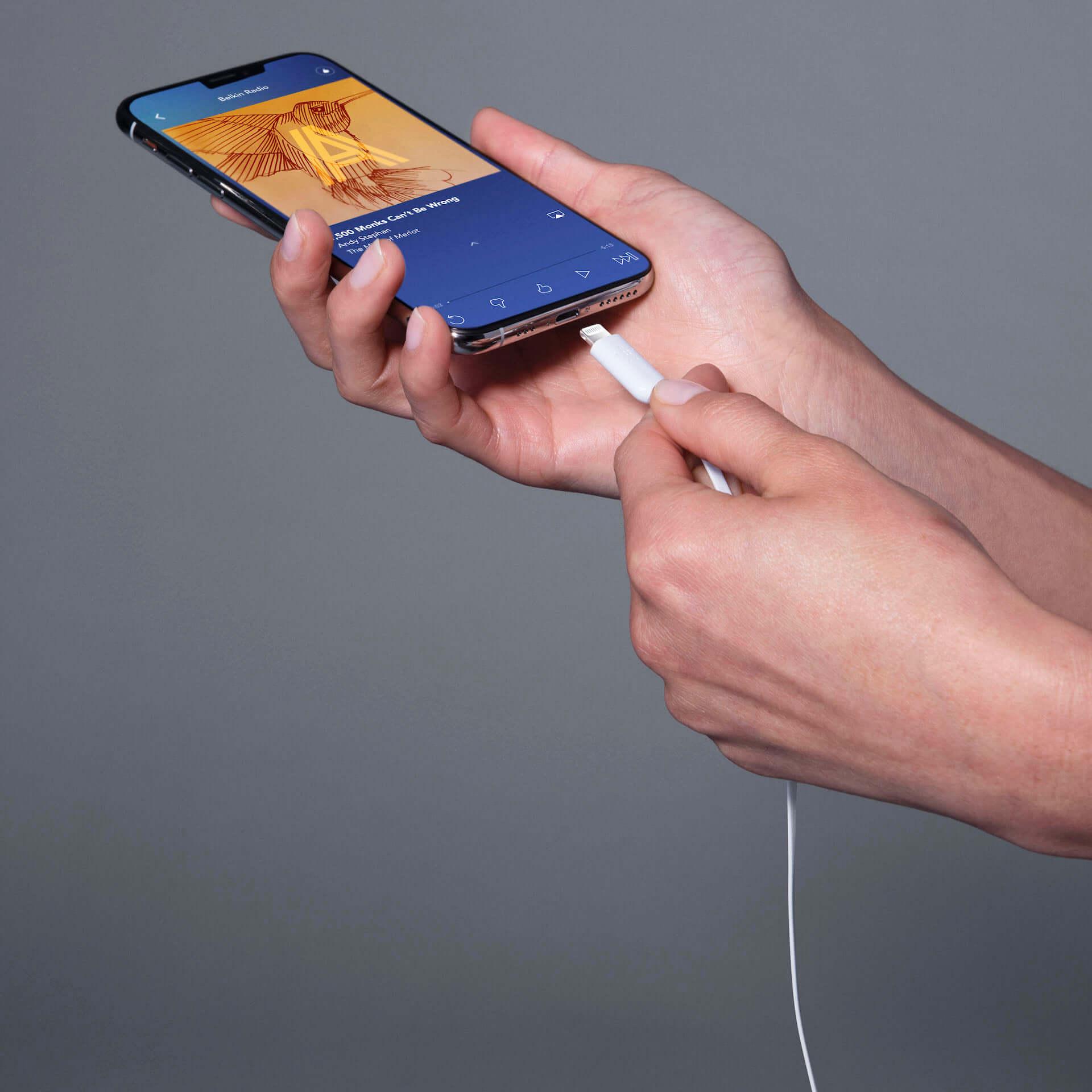 断線に強く、絡まりにくいBelkin「ROCKSTAR™️ Lightning コネクタ付きイヤフォン」が登場|先着30名に30%オフクーポンも technology190819rockstar_2-1920x1920