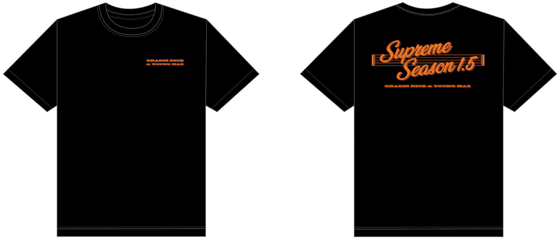 GRADIS NICE & YOUNG MAS、アルバム発売記念Tシャツを数量限定販売| NY在住Toya Horiuchiがデザイン music190819_febbasyoungmason_gradisnice_tshirt_2-1920x827