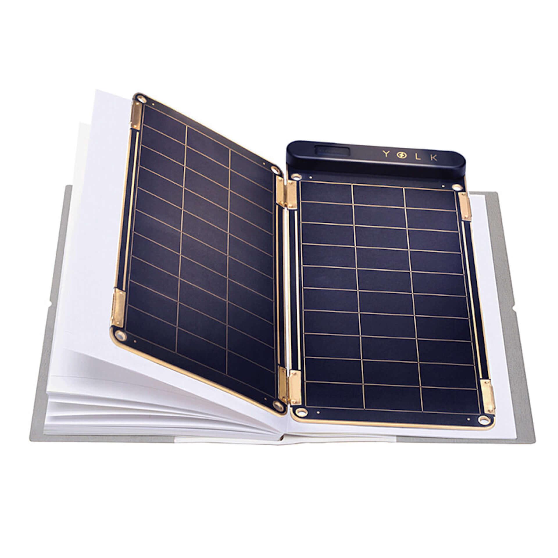 世界最薄・最軽量!家庭用コンセント同等の充電スピードを誇る、高性能ソーラーチャージャー「YOLK Solar Paper」が登場 technology190821yolk-solar-paper_2-1920x1920