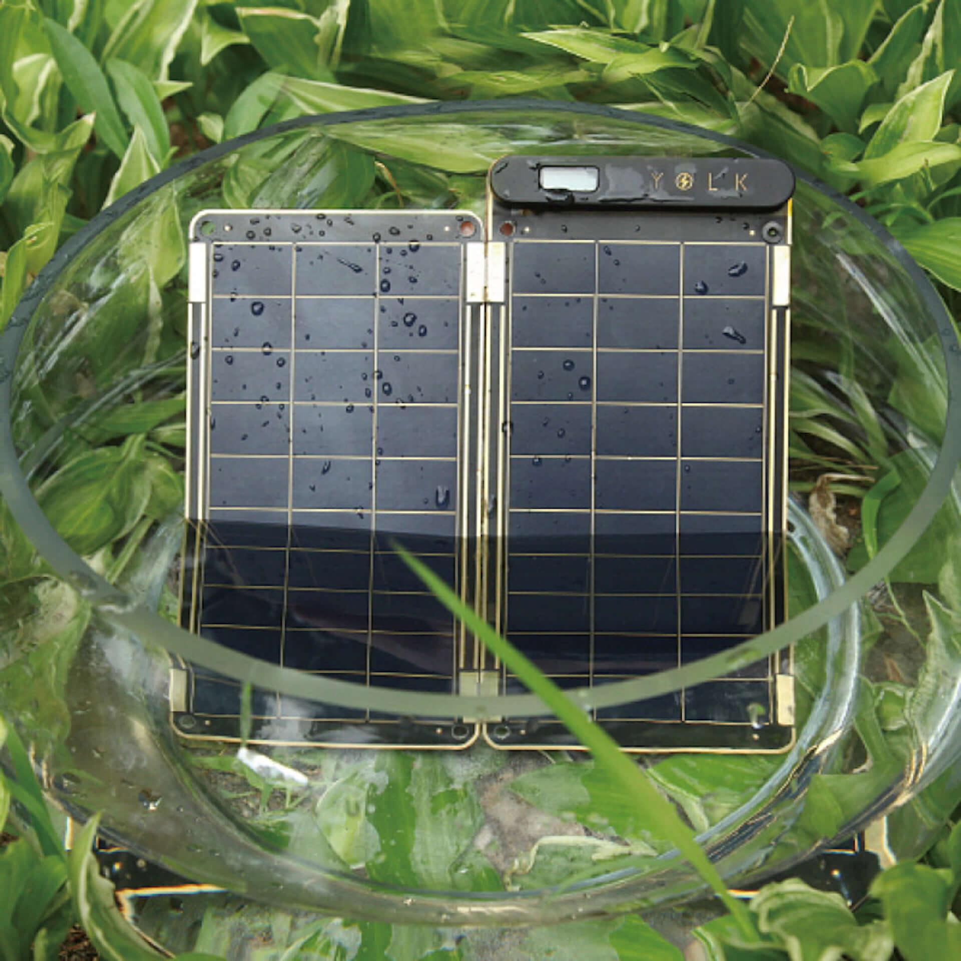 世界最薄・最軽量!家庭用コンセント同等の充電スピードを誇る、高性能ソーラーチャージャー「YOLK Solar Paper」が登場 technology190821yolk-solar-paper_6-1920x1920