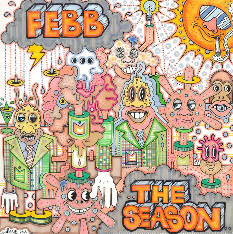 FEBBの1stアルバムに未発表曲2曲を追加した『THE SEASON – DELUXE』が本日リリース!トレーラー映像も公開 pcd25281-1440x1448