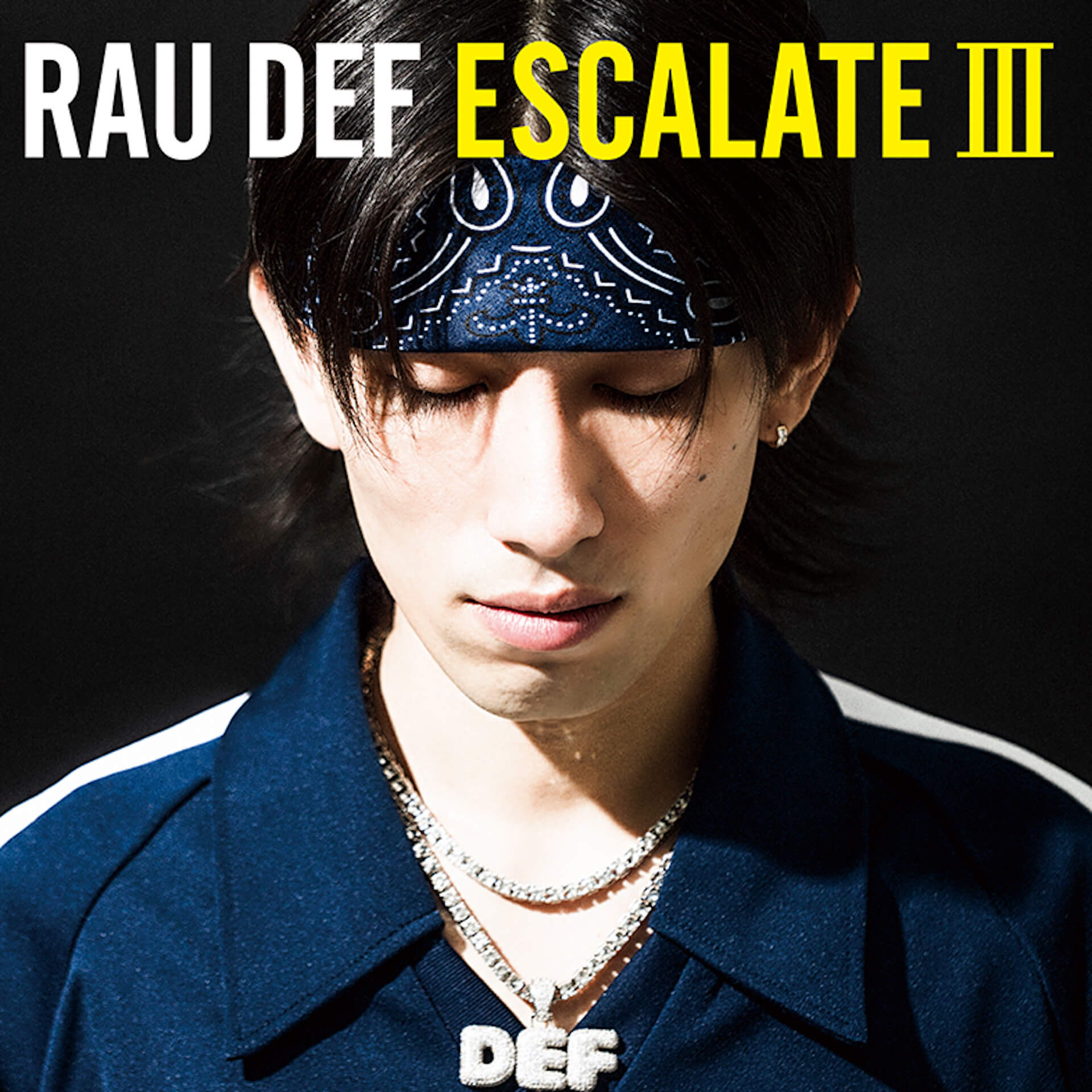 RAU DEF、ニューアルバム『ESCALATE III』を9月25日に発売決定|SKY-HI、PUNPEE、JNKMN、kamuiらが客演 music190821-raudef-2
