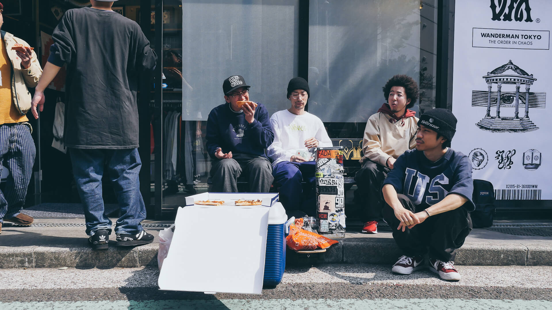 ビートは世界と出会う――BEAT MEETS WORLD x WANDERMAN POP UP in RAH YOKOHAMA REPORT interview-beat-meets-world-pop-up-report-2