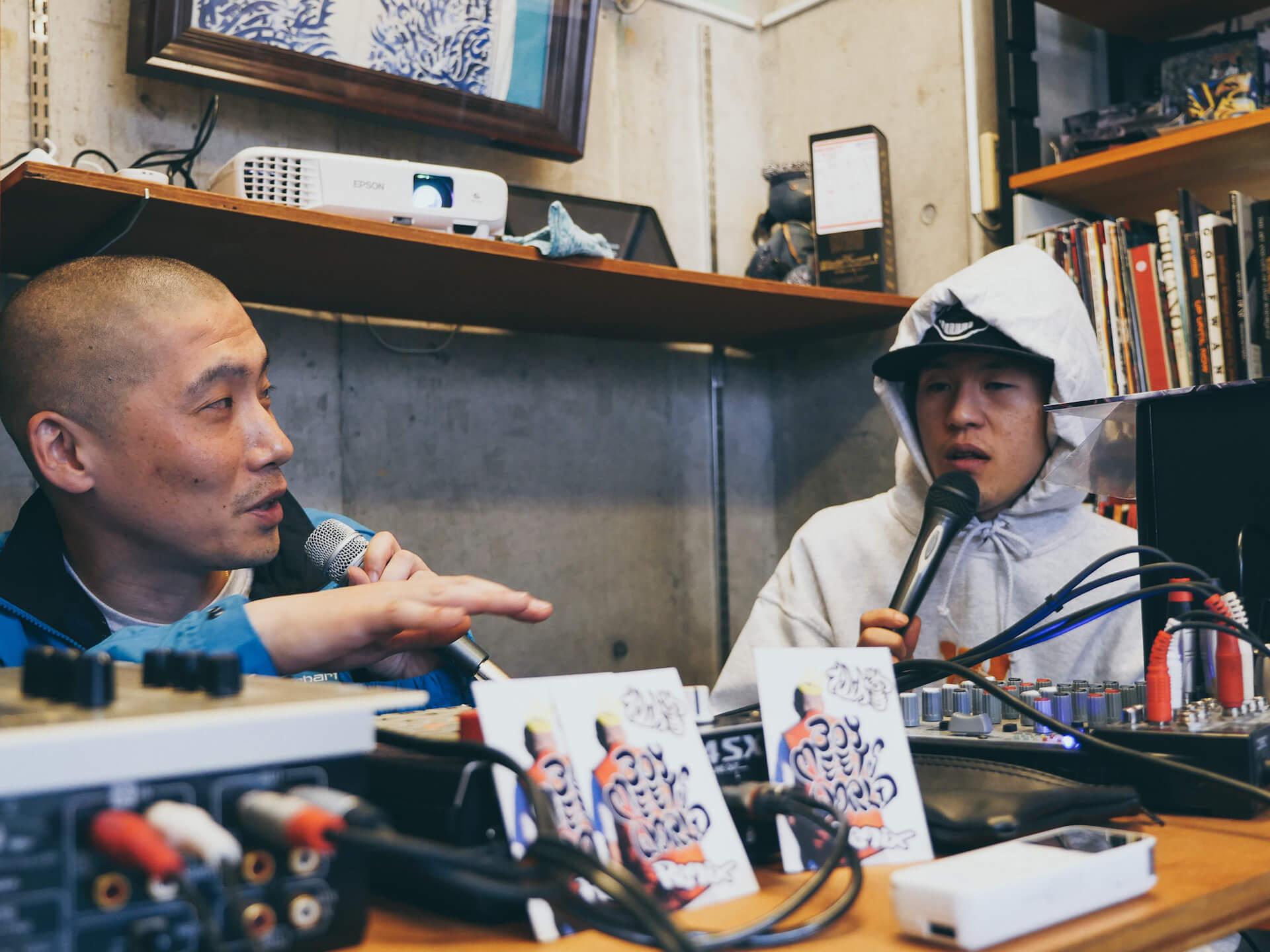 ビートは世界と出会う――BEAT MEETS WORLD x WANDERMAN POP UP in RAH YOKOHAMA REPORT interview-beat-meets-world-pop-up-report-7