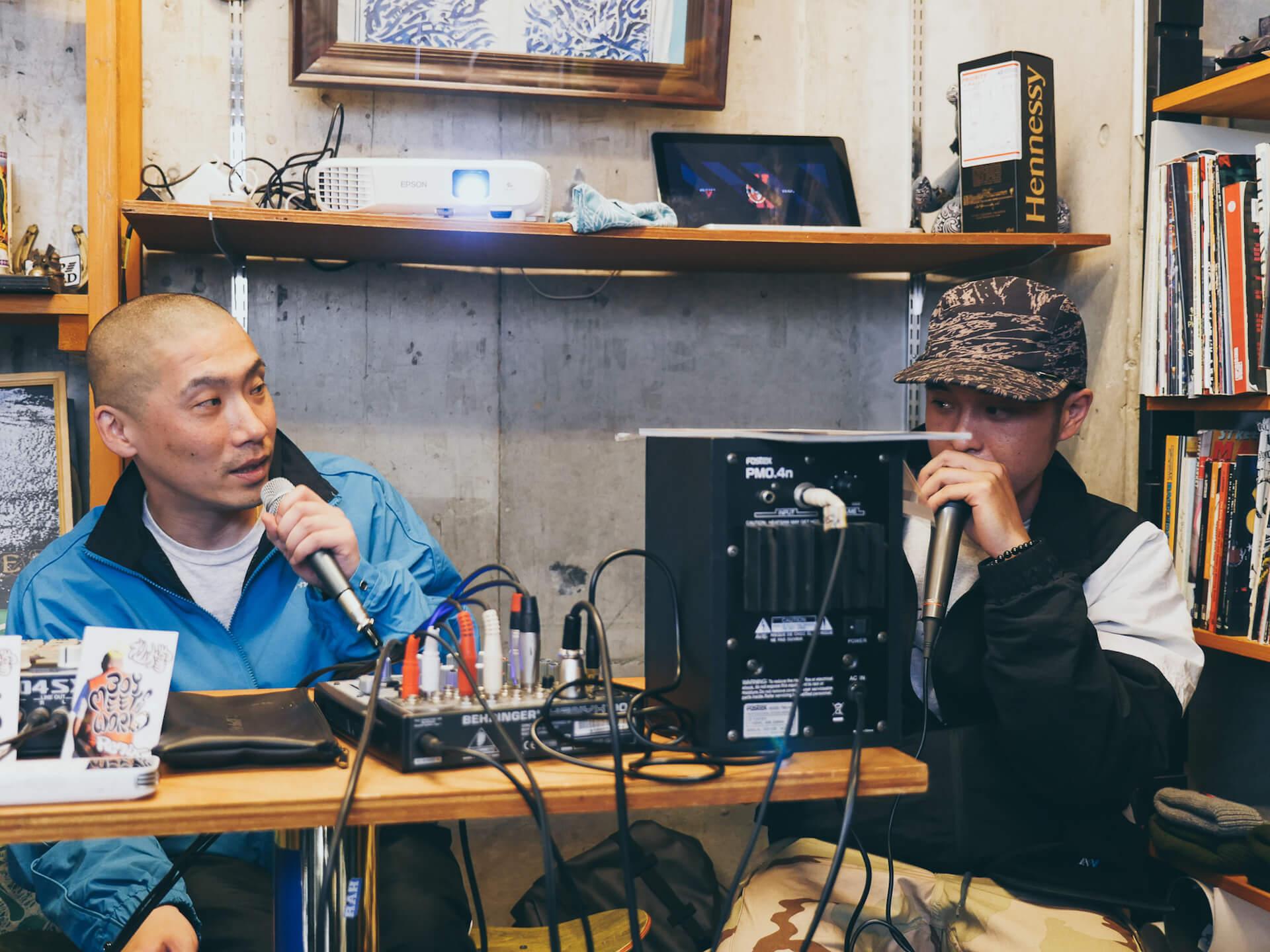 ビートは世界と出会う――BEAT MEETS WORLD x WANDERMAN POP UP in RAH YOKOHAMA REPORT interview-beat-meets-world-pop-up-report-13