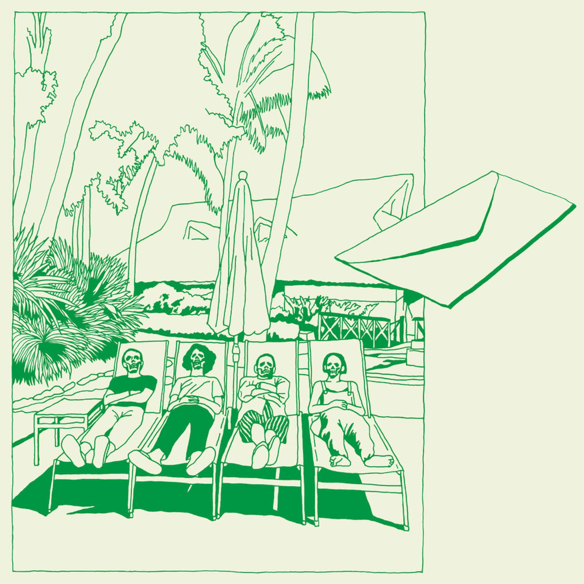 坂本慎太郎、極上のニューシングル「小舟」MV完成&フルバージョンが公開に|エディットはVIDEOTAPEMUSIC music190822-zelonerecord-sakamotoshintaro-3