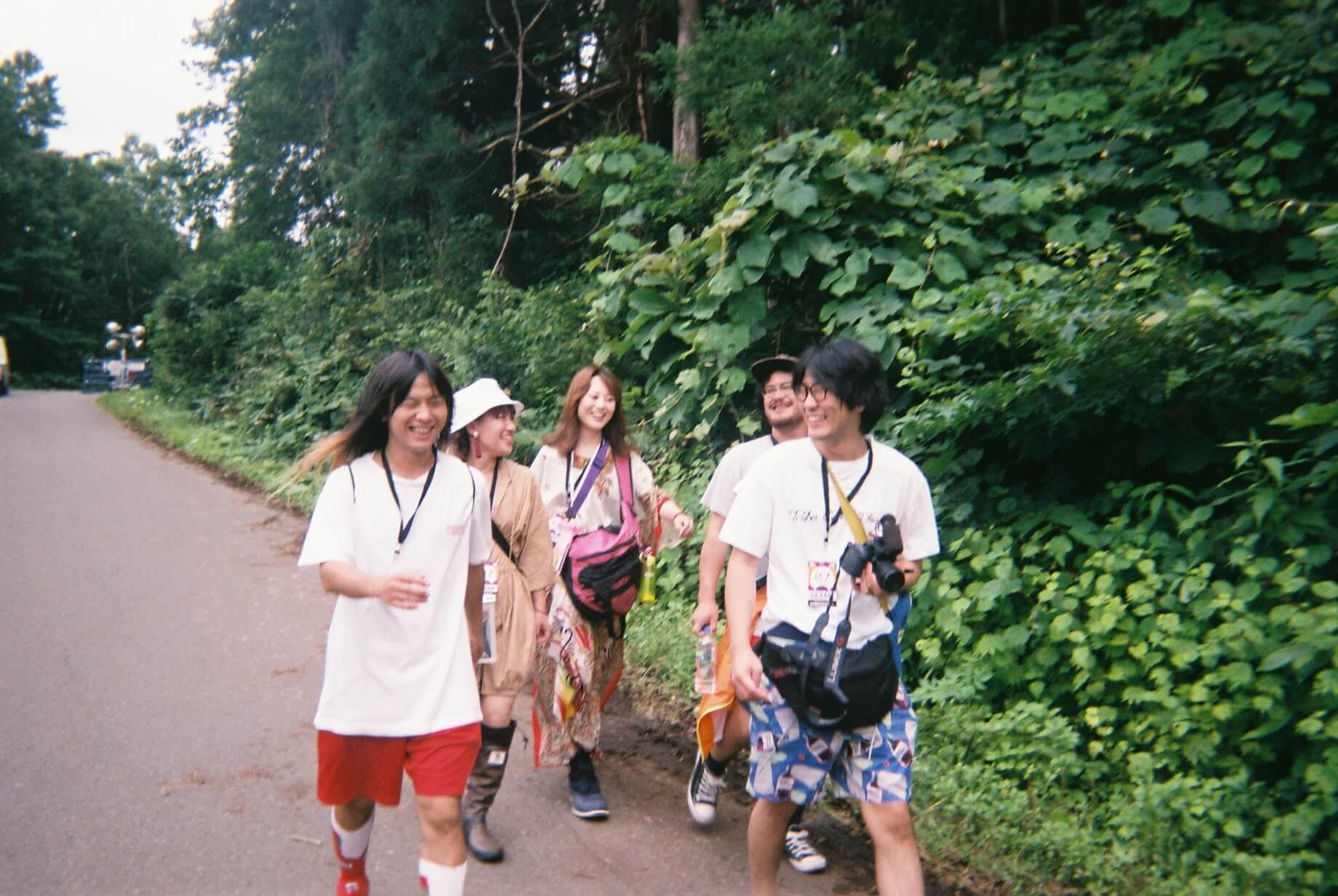 フェスレポート|GEZANが切り取る<FUJI ROCK FESTIVAL'19> music190823_gezan_07.jpg