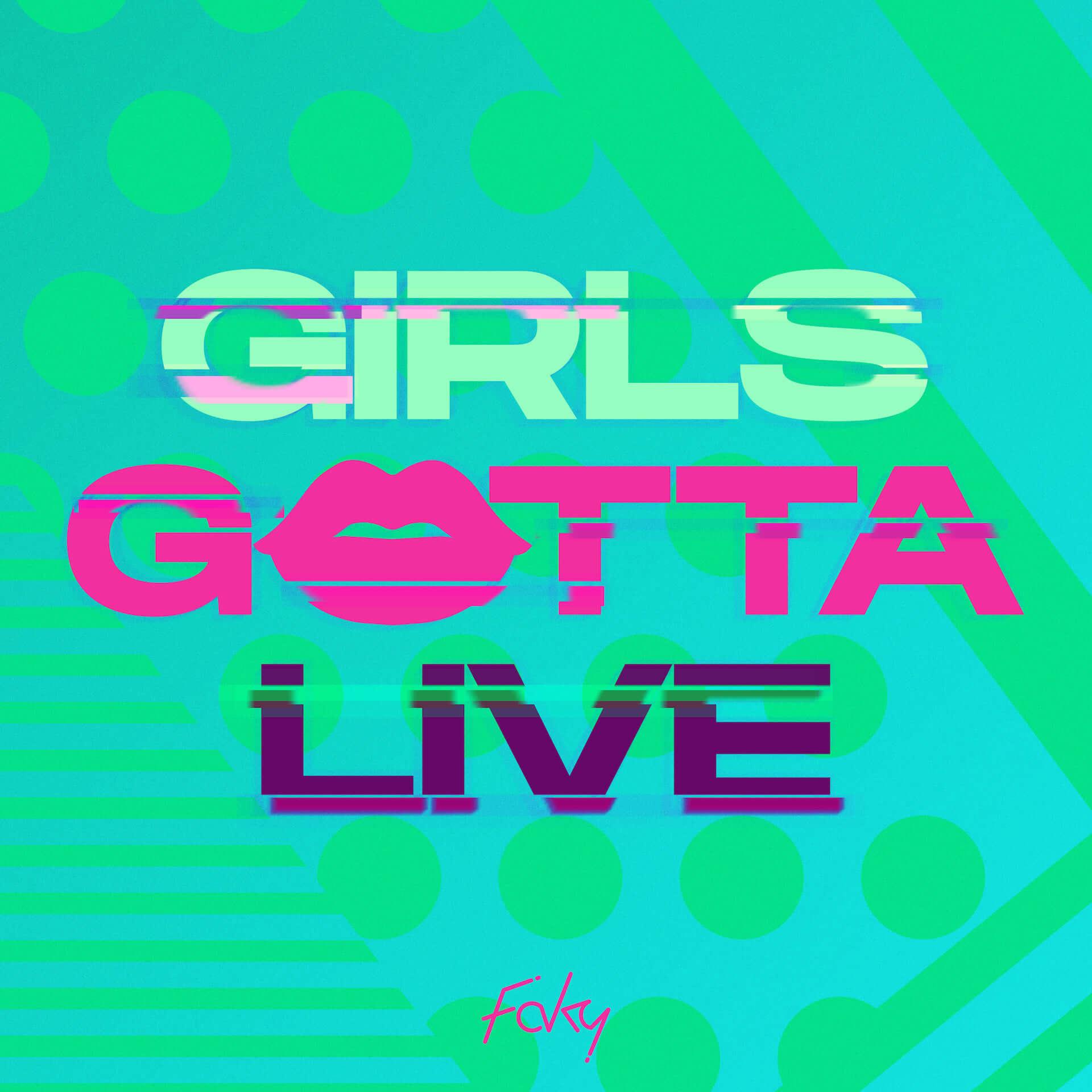 シンクロダンスで世界的な注目を集めるガールズグループ・FAKYが、新曲「GIRLS GOTTA LIVE」のMVを公開 music190826_faky_1-1920x1920