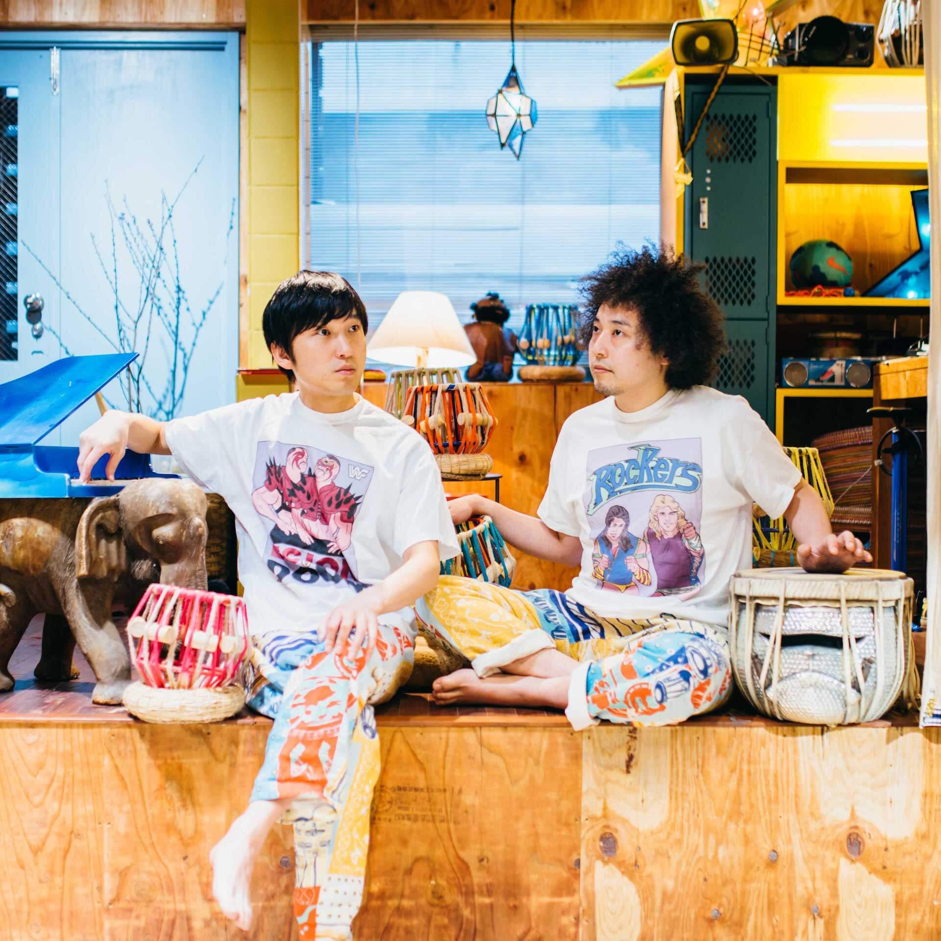 蓮沼執太 & ユザーン、ZOMBIE-CHANGの対バンイベントが11月にWALL&WALLにて開催 music1908228-hasunuma-uzhaan-zombiechang2