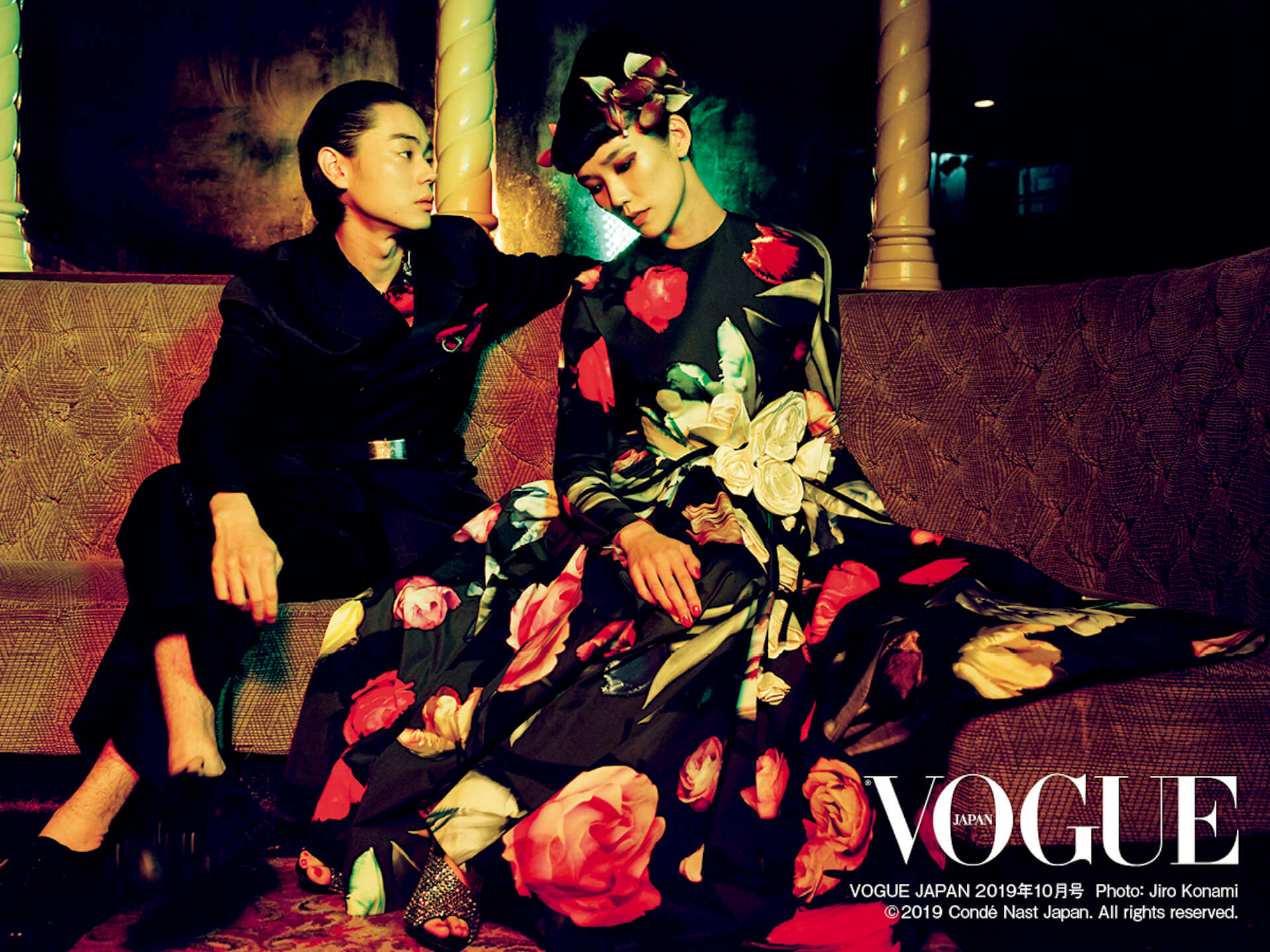 菅田将暉&TAO、1920年代風ファッションに身を包み『VOGUE JAPAN』に登場 life190828_vogue_sudamasaki_tao_main-1920x1440