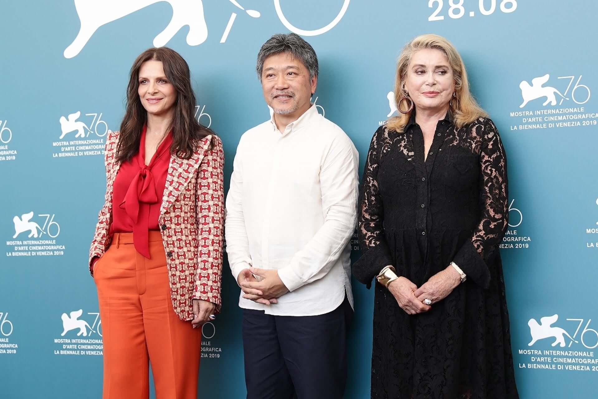 是枝裕和監督『真実』が<ヴェネチア国際映画祭>日本人初のオープニングを飾る|カトリーヌ・ドヌーヴらが登壇! film190829shinjitsu_1-1920x1280