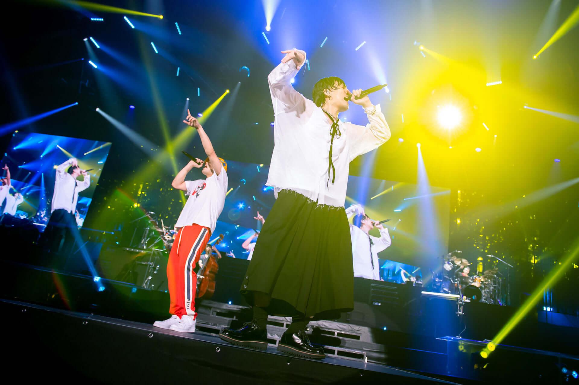 RADWIMPS横浜アリーナ公演のライブ写真が公開!<ANTI ANTI GENERATION TOUR 2019>レポート music190830_radwimps_live_24-1920x1278