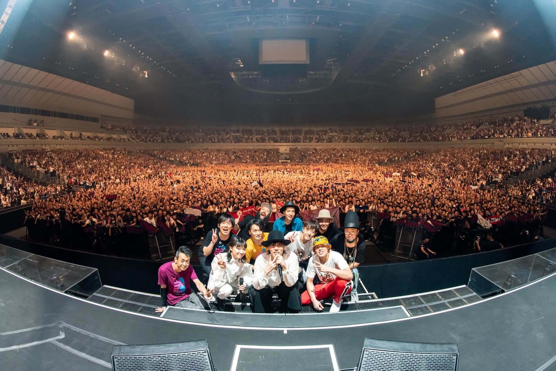 RADWIMPS横浜アリーナ公演のライブ写真が公開!<ANTI ANTI GENERATION TOUR 2019>レポート music190830_radwimps_live_2-1920x1282